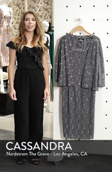 Sequin Lace Dress & Jacket, sales video thumbnail