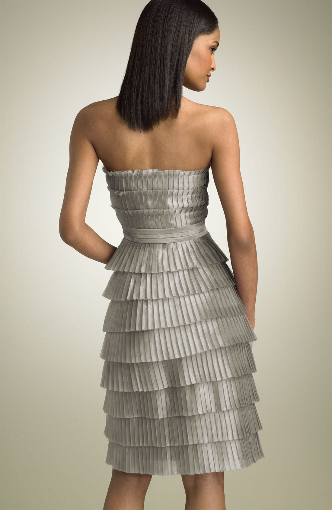 Strapless Tiered Dress,                             Alternate thumbnail 2, color,                             096