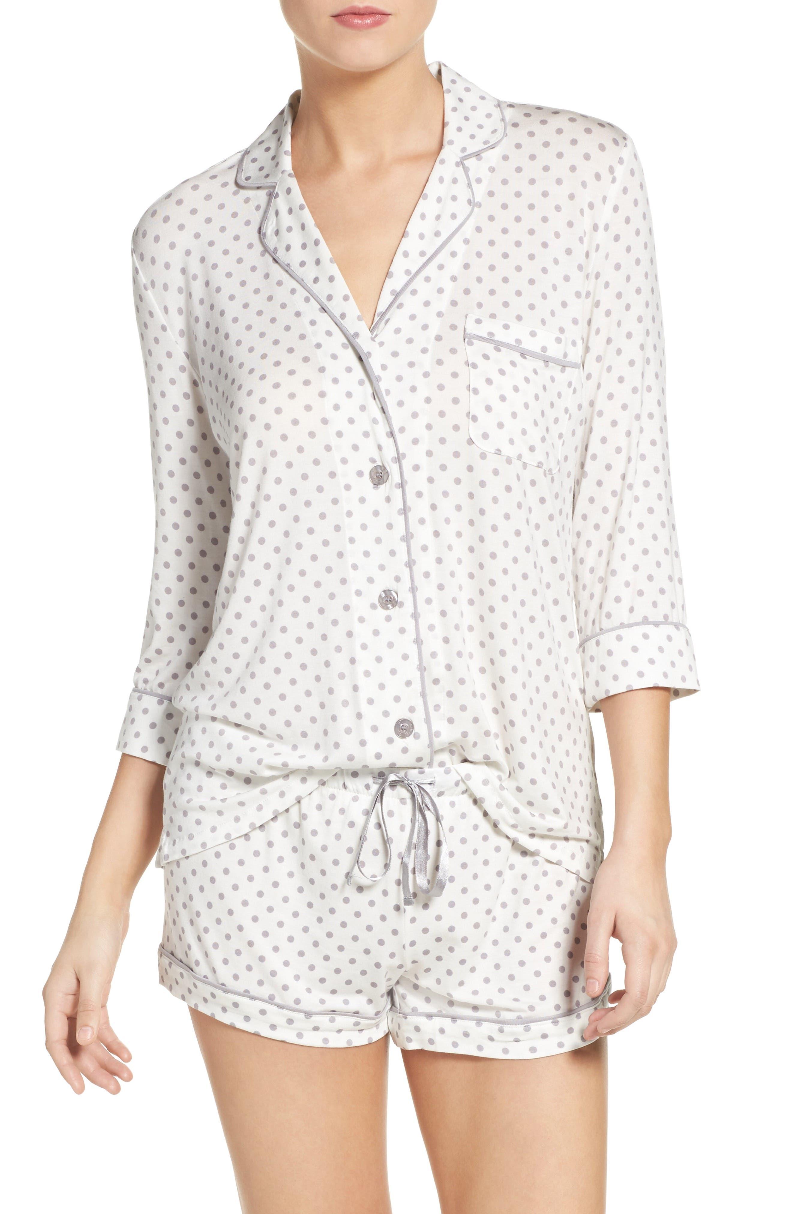 Short Pajamas,                             Main thumbnail 1, color,                             900
