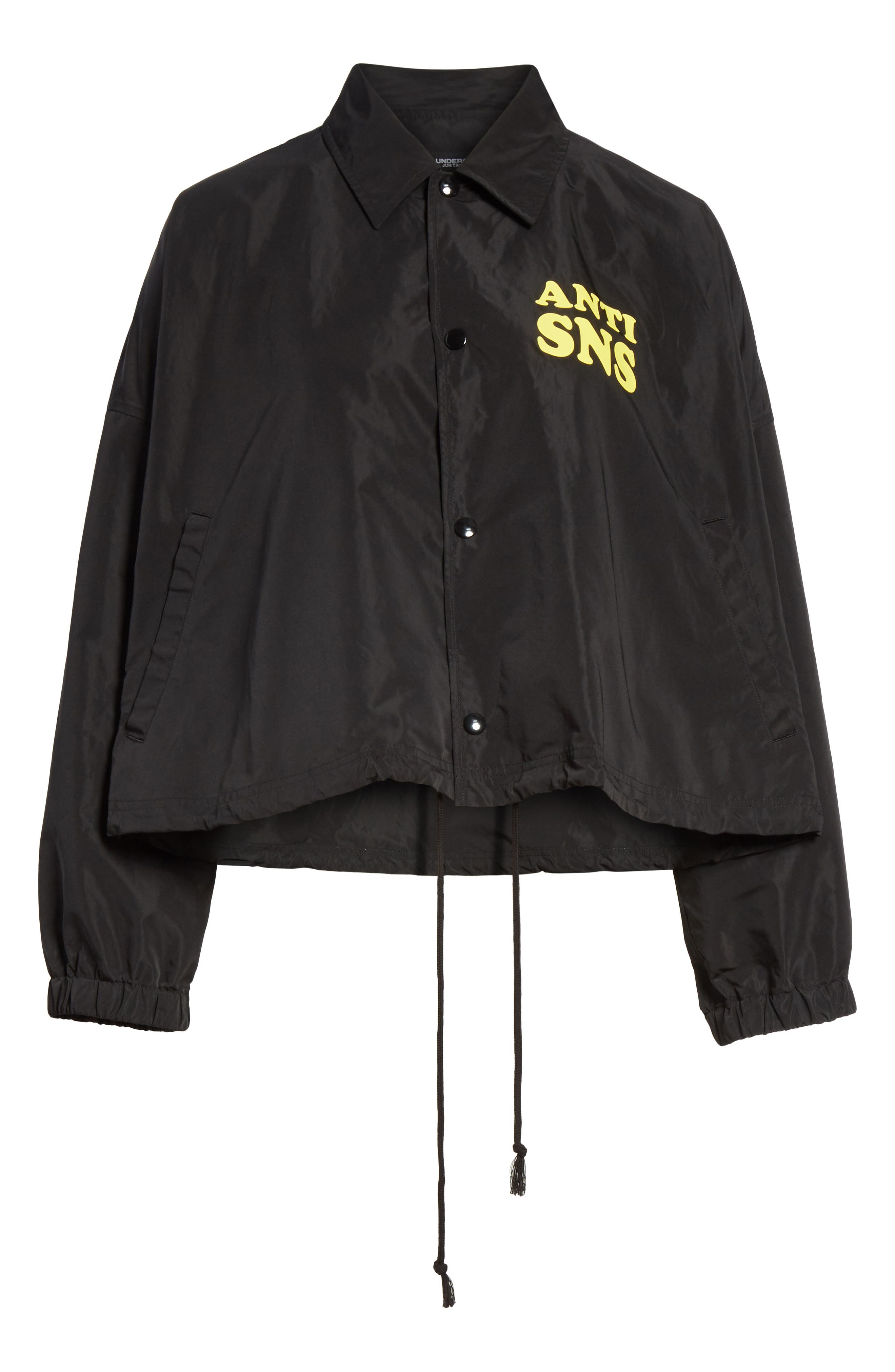Anti SNS Jacket,                             Alternate thumbnail 5, color,                             001