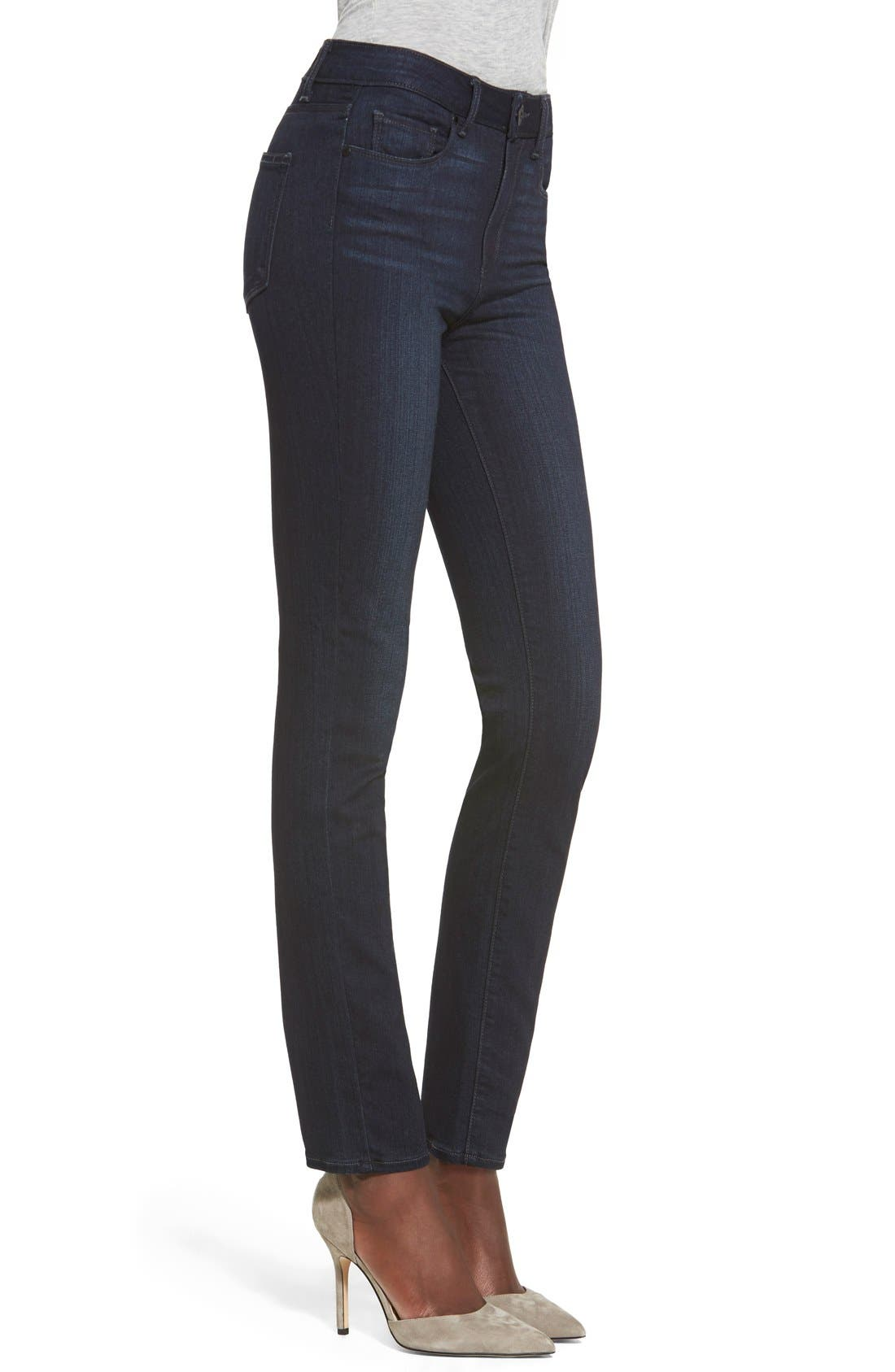 Denim 'Transcend - Hoxton' High Rise Ankle Skinny Jeans,                             Alternate thumbnail 2, color,                             400