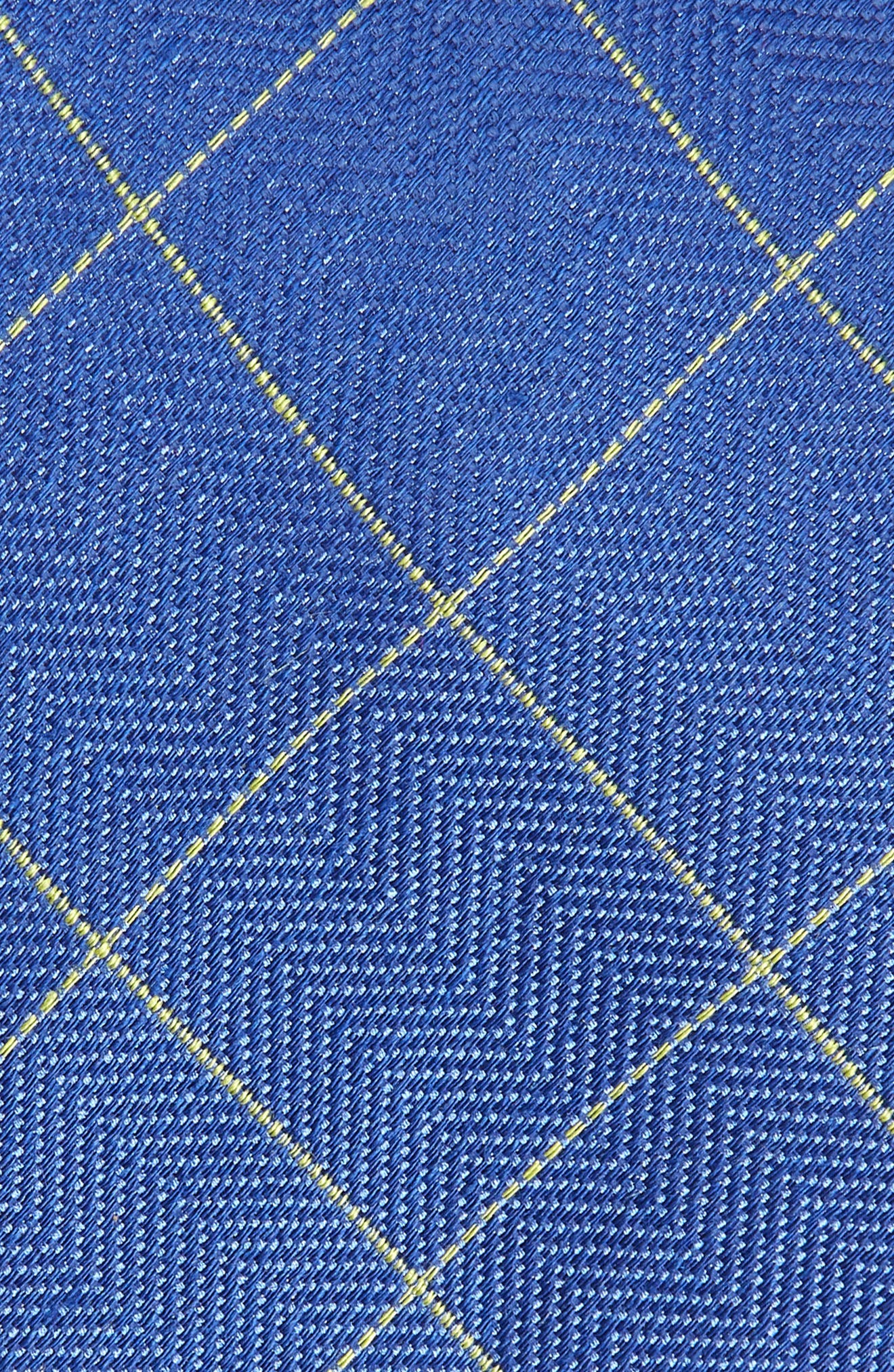 Windowpane Silk & Linen Tie,                             Alternate thumbnail 2, color,                             423