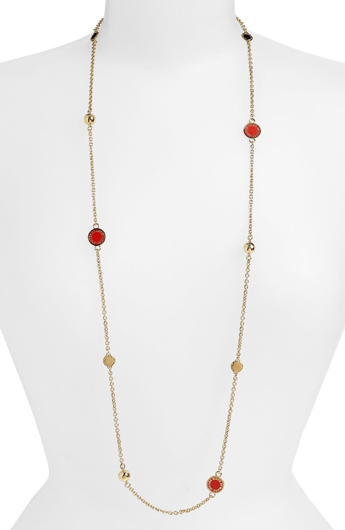 'Classic Marc' Long Necklace,                             Main thumbnail 10, color,