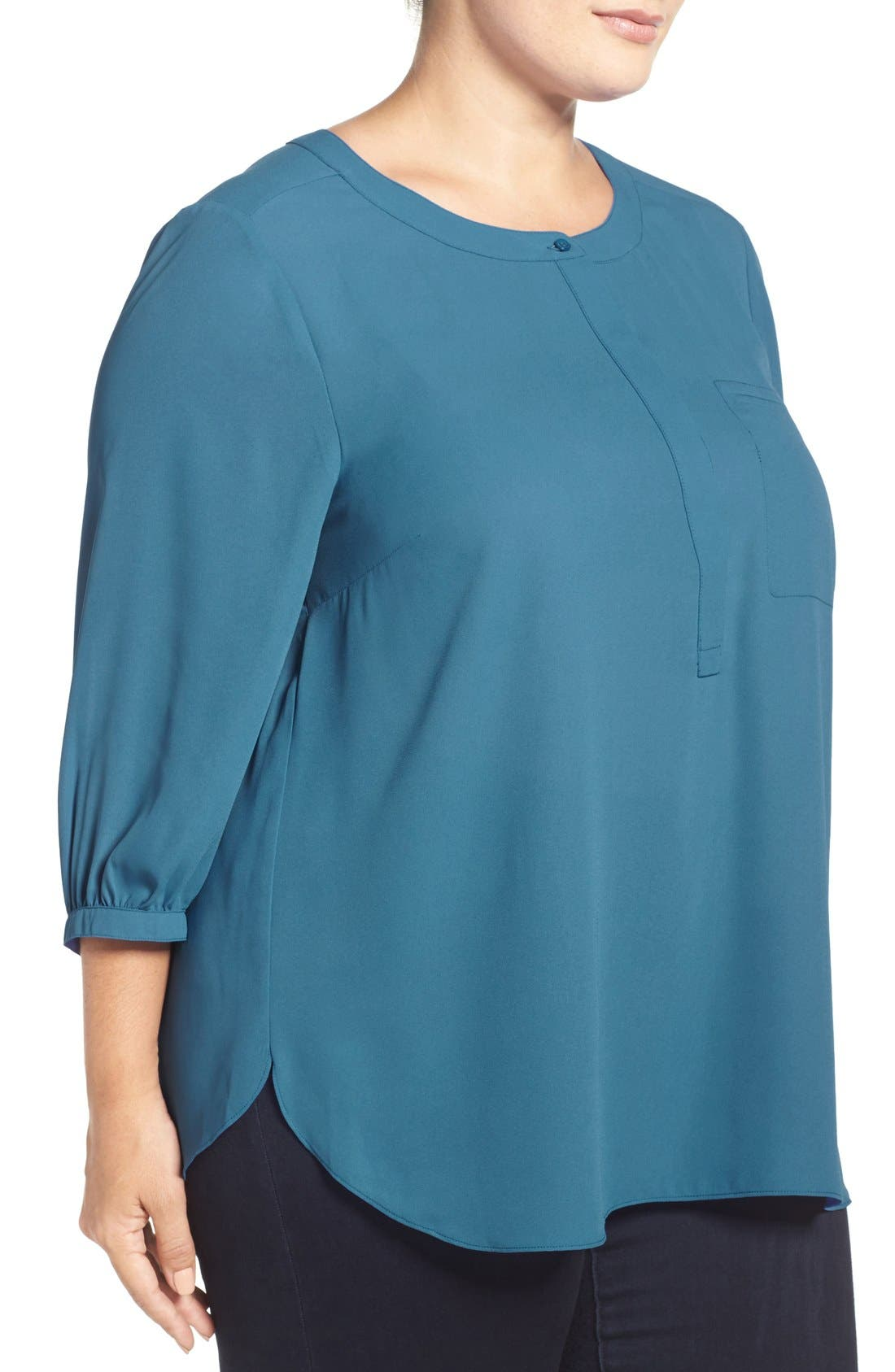 Henley Top,                             Alternate thumbnail 226, color,