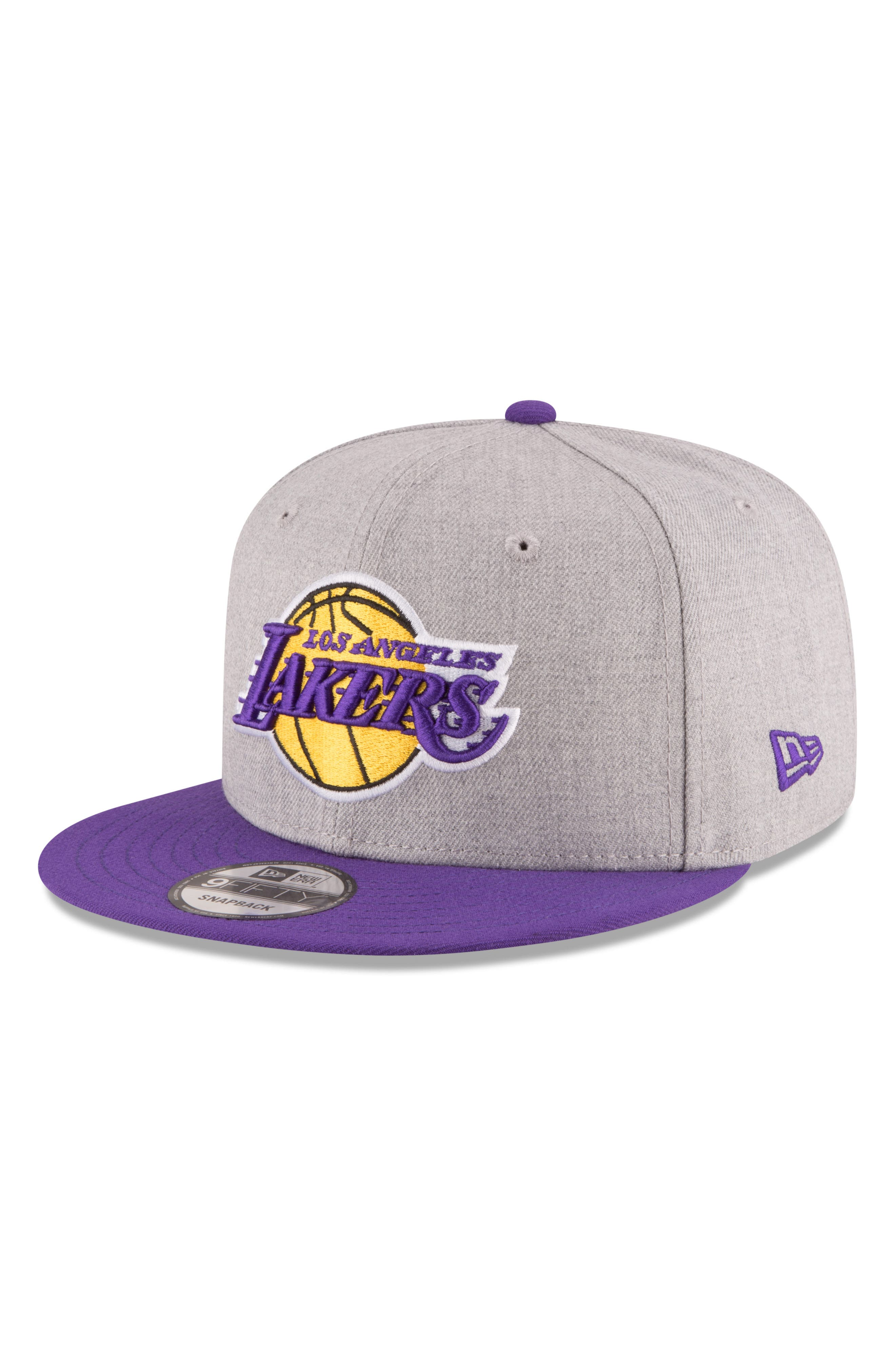 9FIFTY LA Lakers Two-Tone Cap,                             Main thumbnail 1, color,                             020