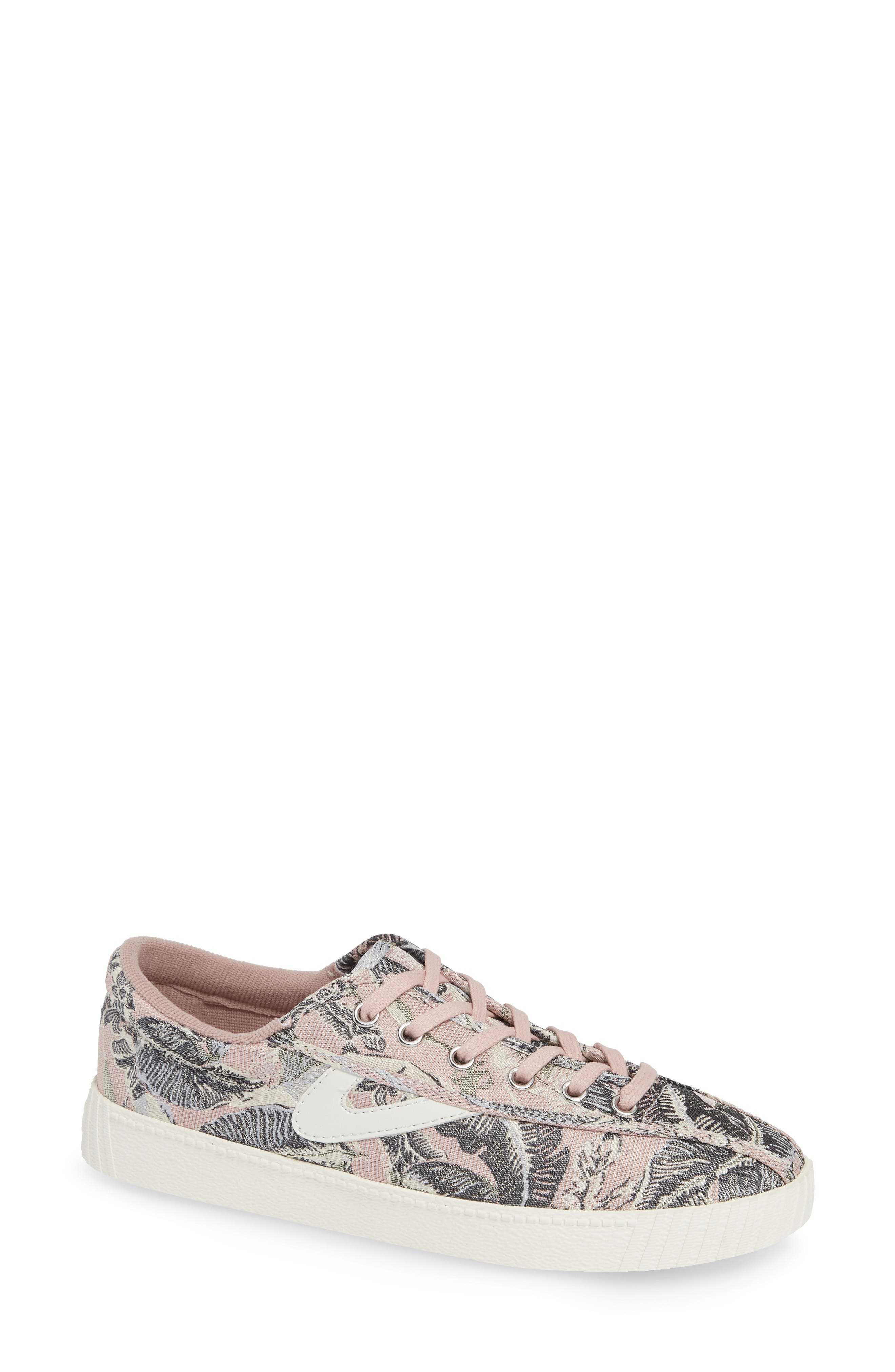 Nylite Plus Jacquard Low-Top Sneakers in Blue/White