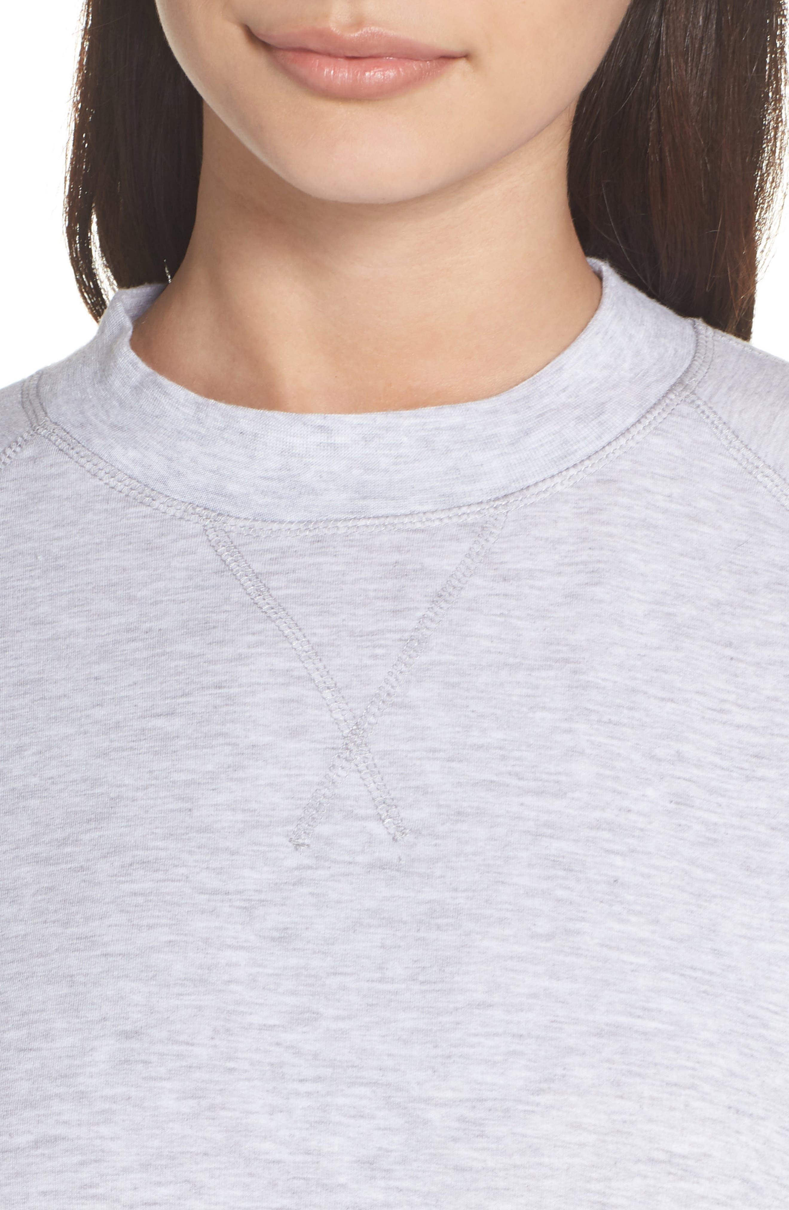 Cool Touch Sweatshirt,                             Alternate thumbnail 4, color,                             020
