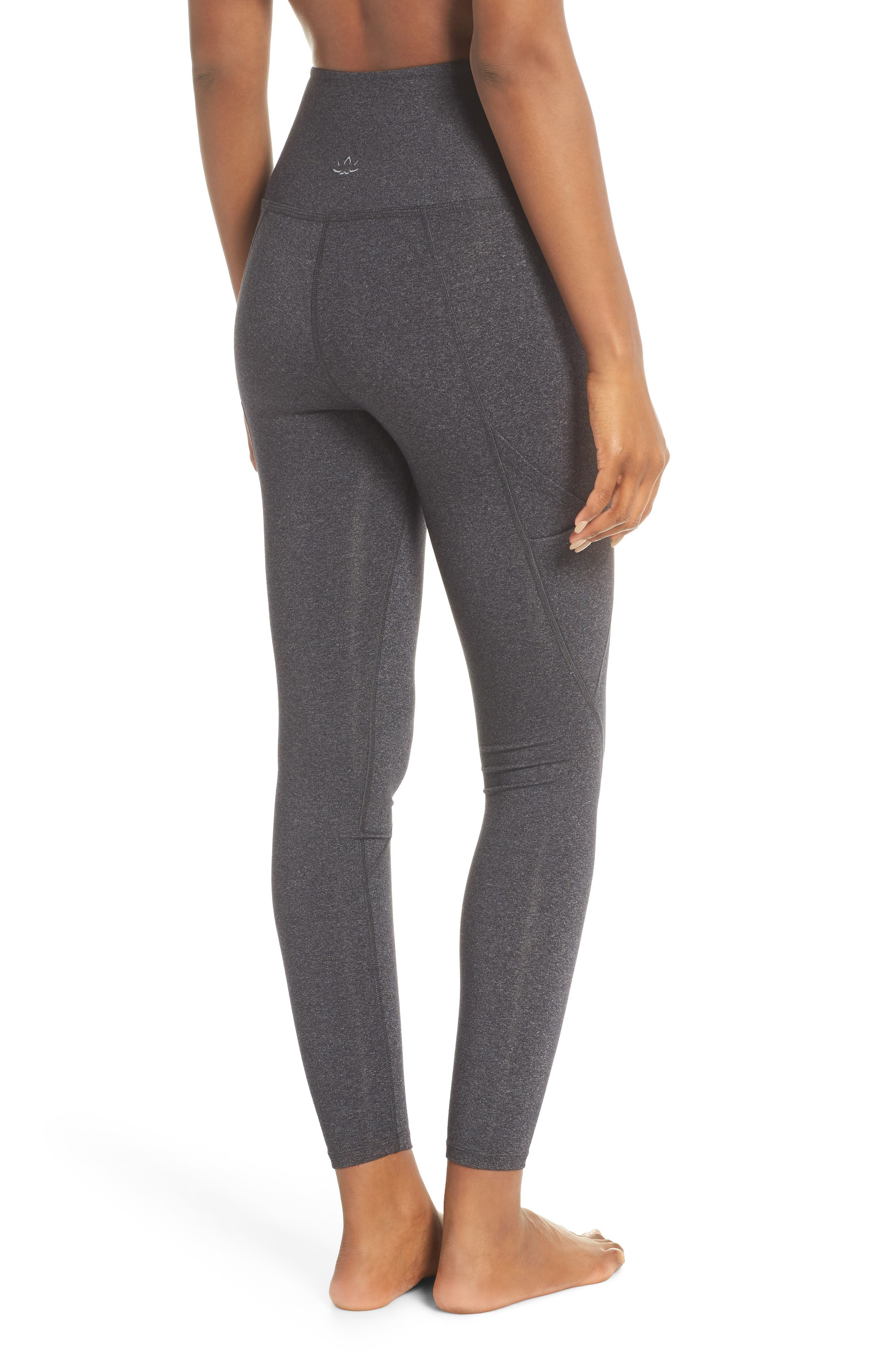 Palomino Midi High Waisted Leggings,                             Alternate thumbnail 2, color,                             030