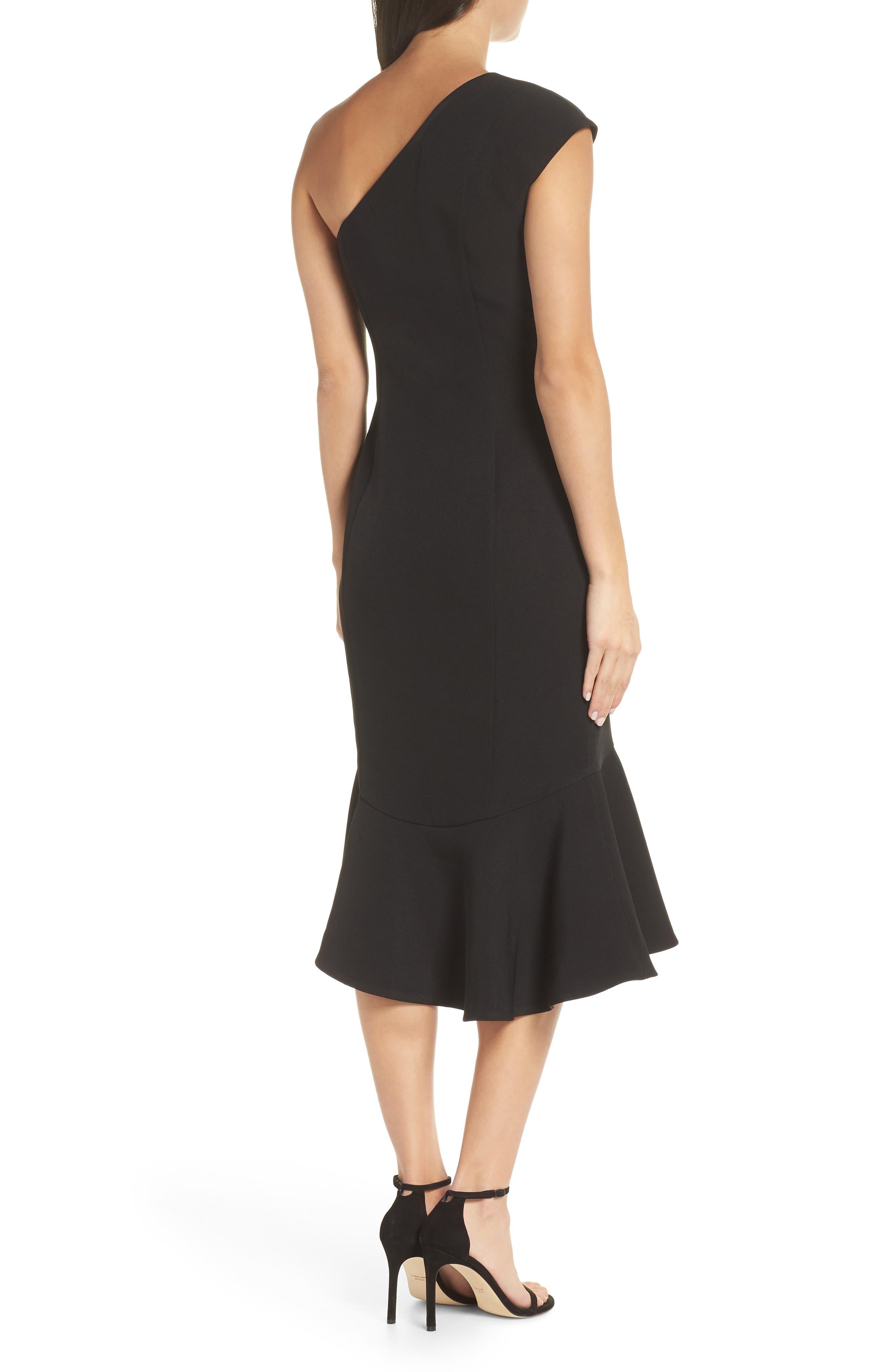 KEEPSAKE THE LABEL,                             Mirrors One-Shoulder Asymmetrical Dress,                             Alternate thumbnail 2, color,                             001