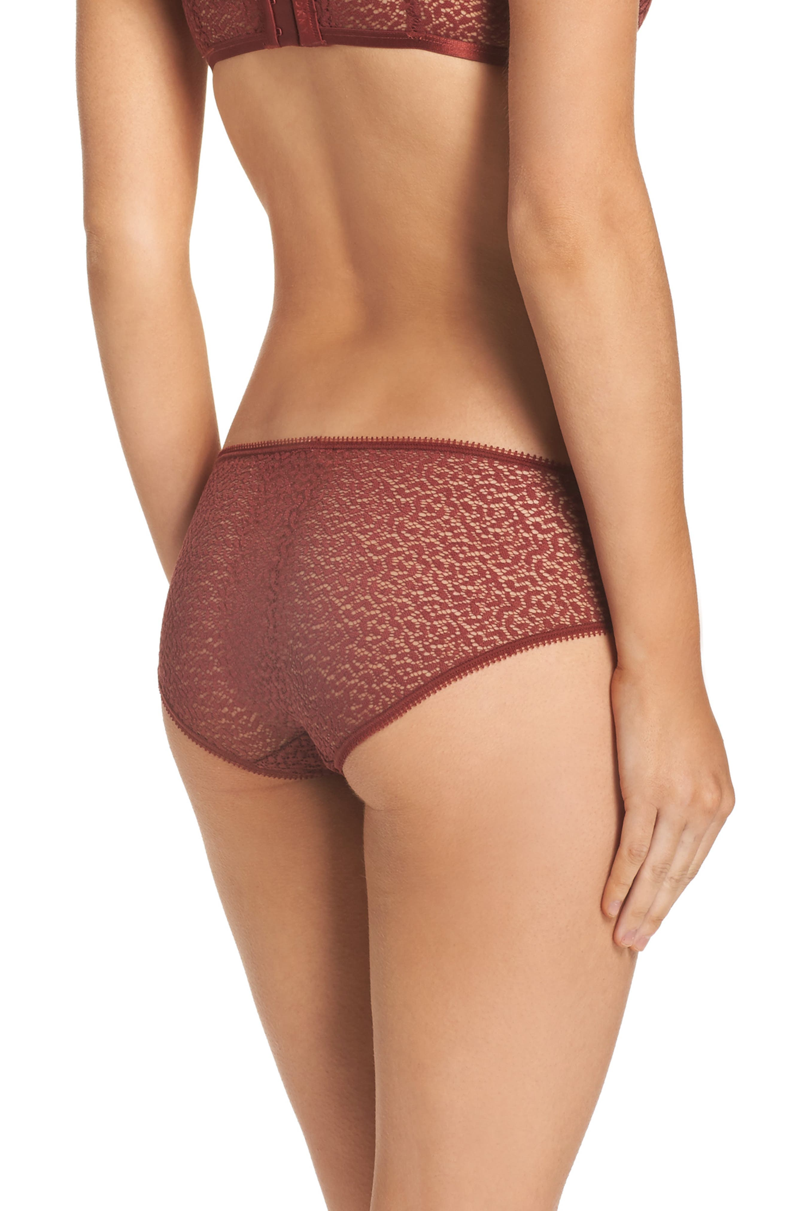 Modern Lace Hipster Panties,                             Alternate thumbnail 7, color,