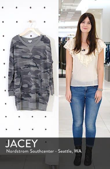 Active Camo Sweatshirt Dress, sales video thumbnail