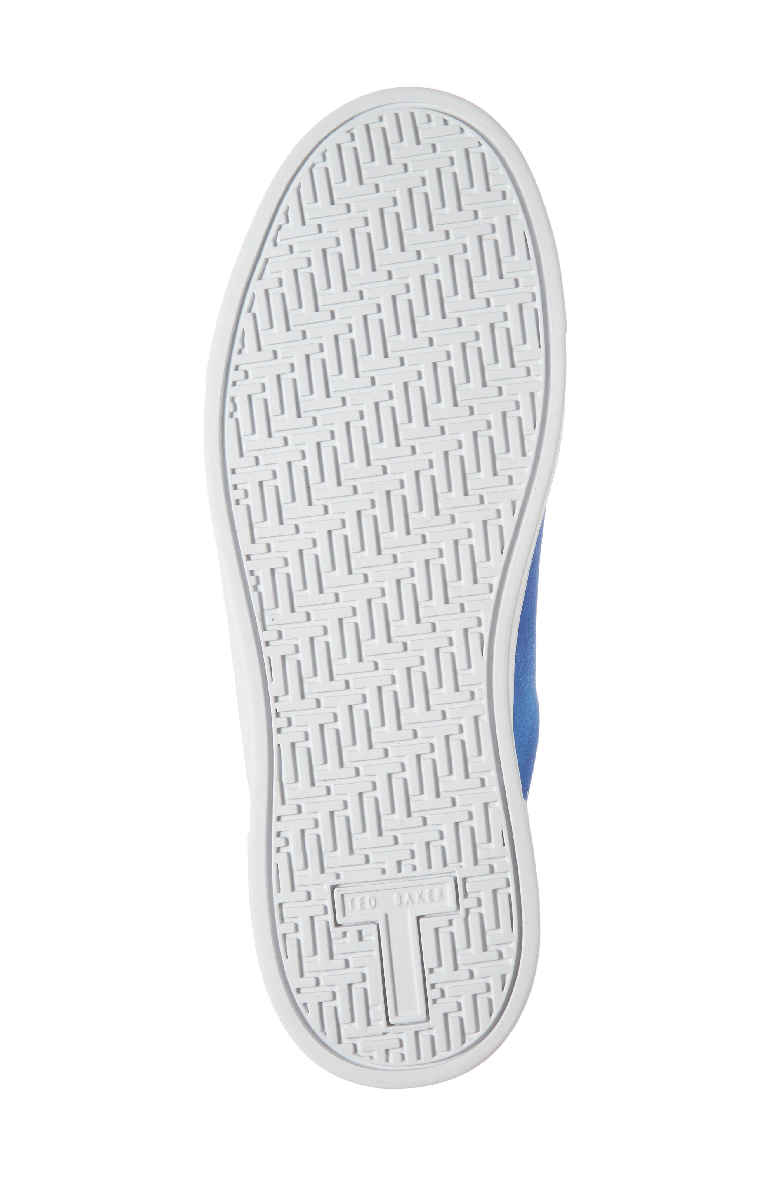 Eryin Sneaker,                             Alternate thumbnail 6, color,                             BLUE HARMONY PRINT SUEDE