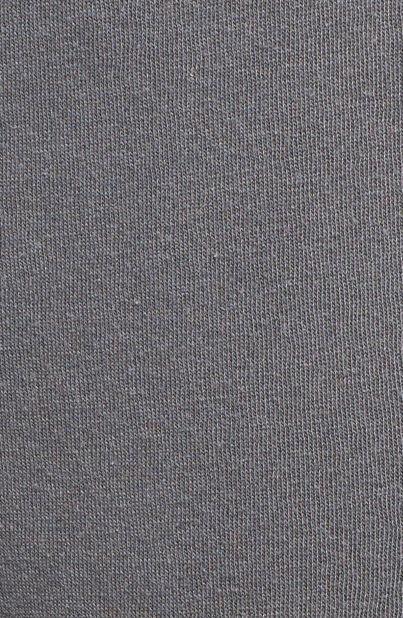 Cambridge Crop Sweatpants,                             Alternate thumbnail 6, color,                             THUNDERSTORM