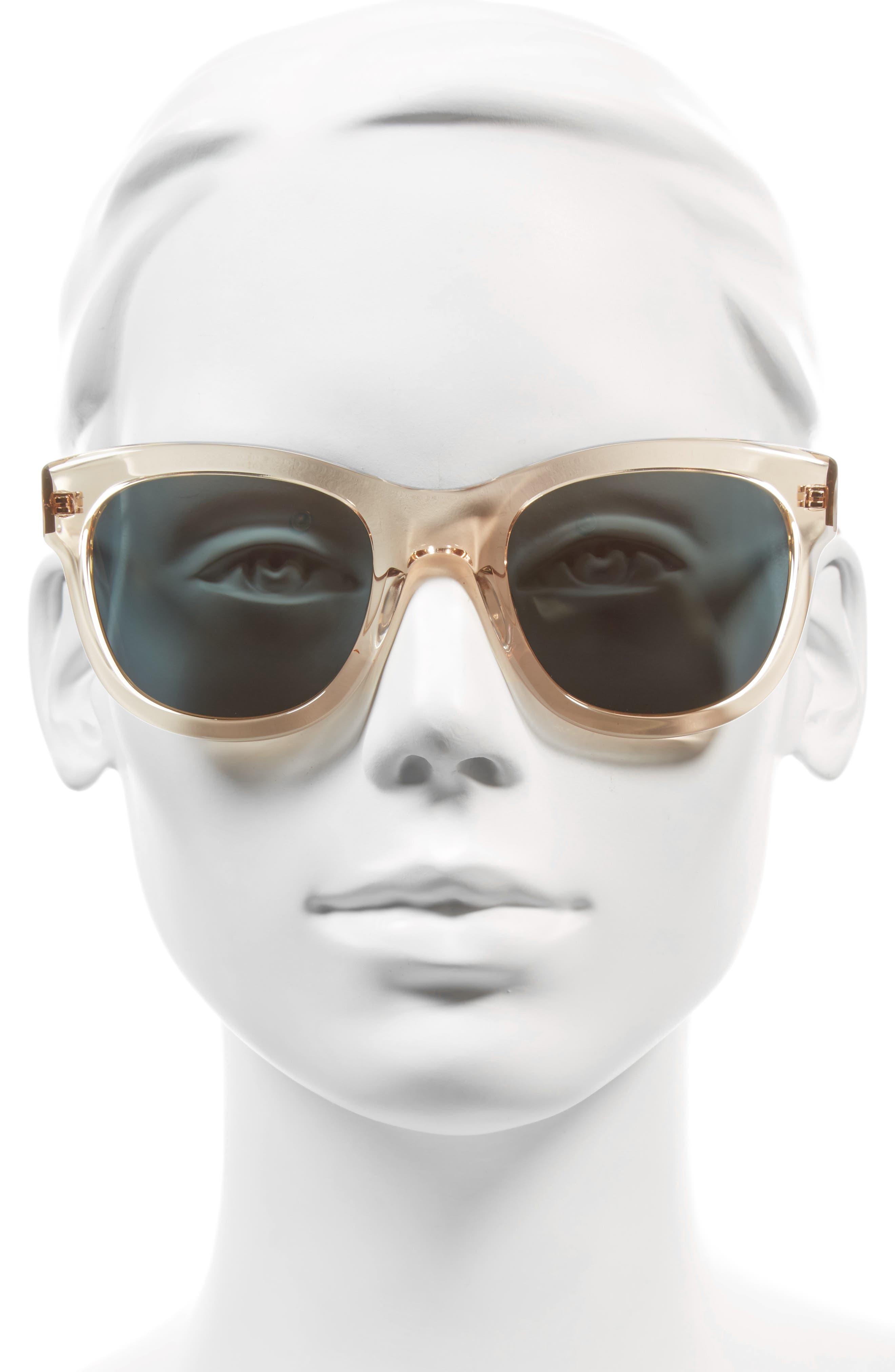 Billingsley 53mm Polarized Rectangular Sunglasses,                             Alternate thumbnail 2, color,                             300