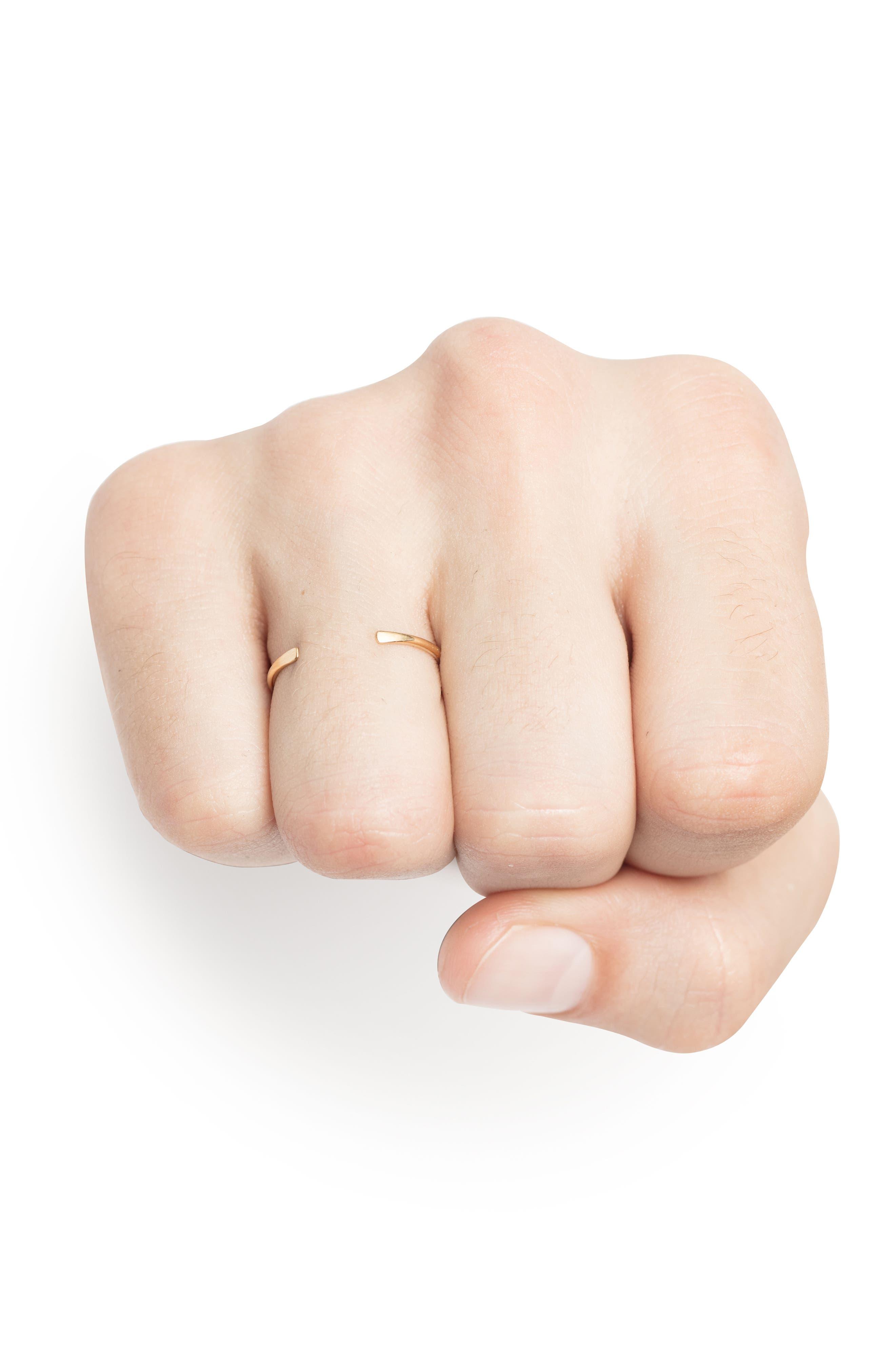 Adjustable 18k Gold Ring,                             Alternate thumbnail 2, color,