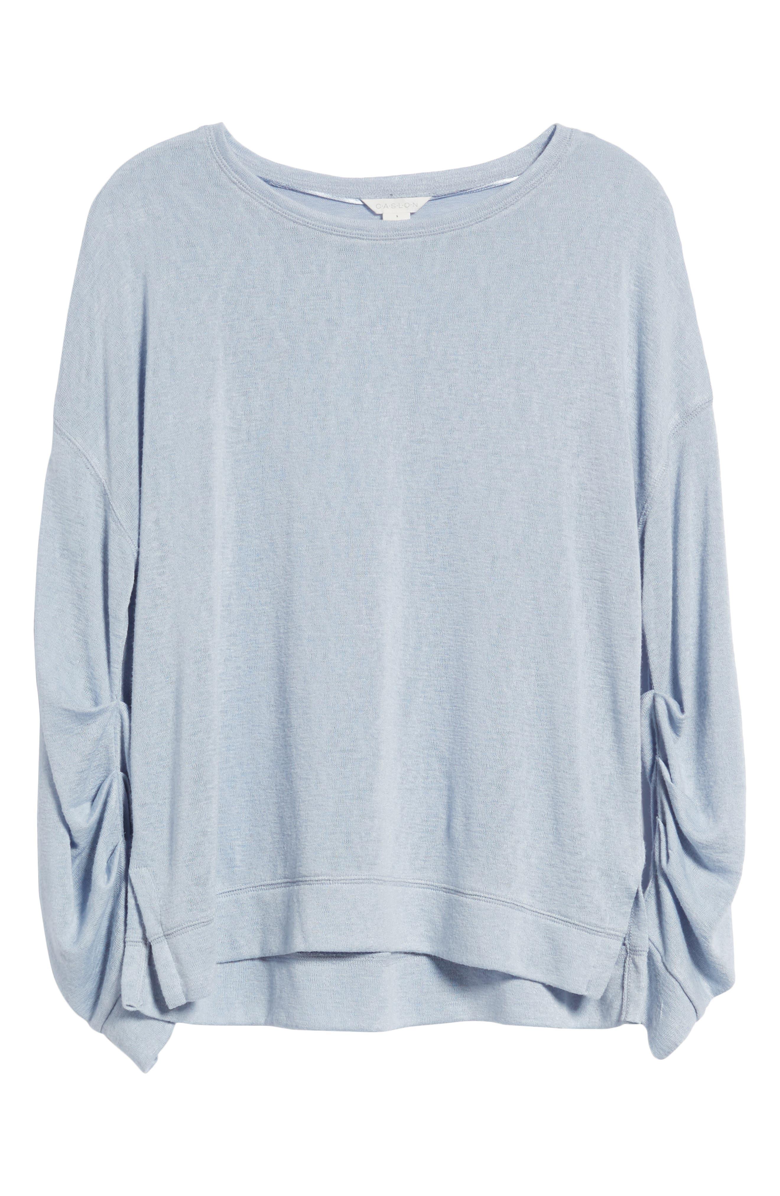 Tuck Sleeve Sweatshirt,                             Alternate thumbnail 36, color,