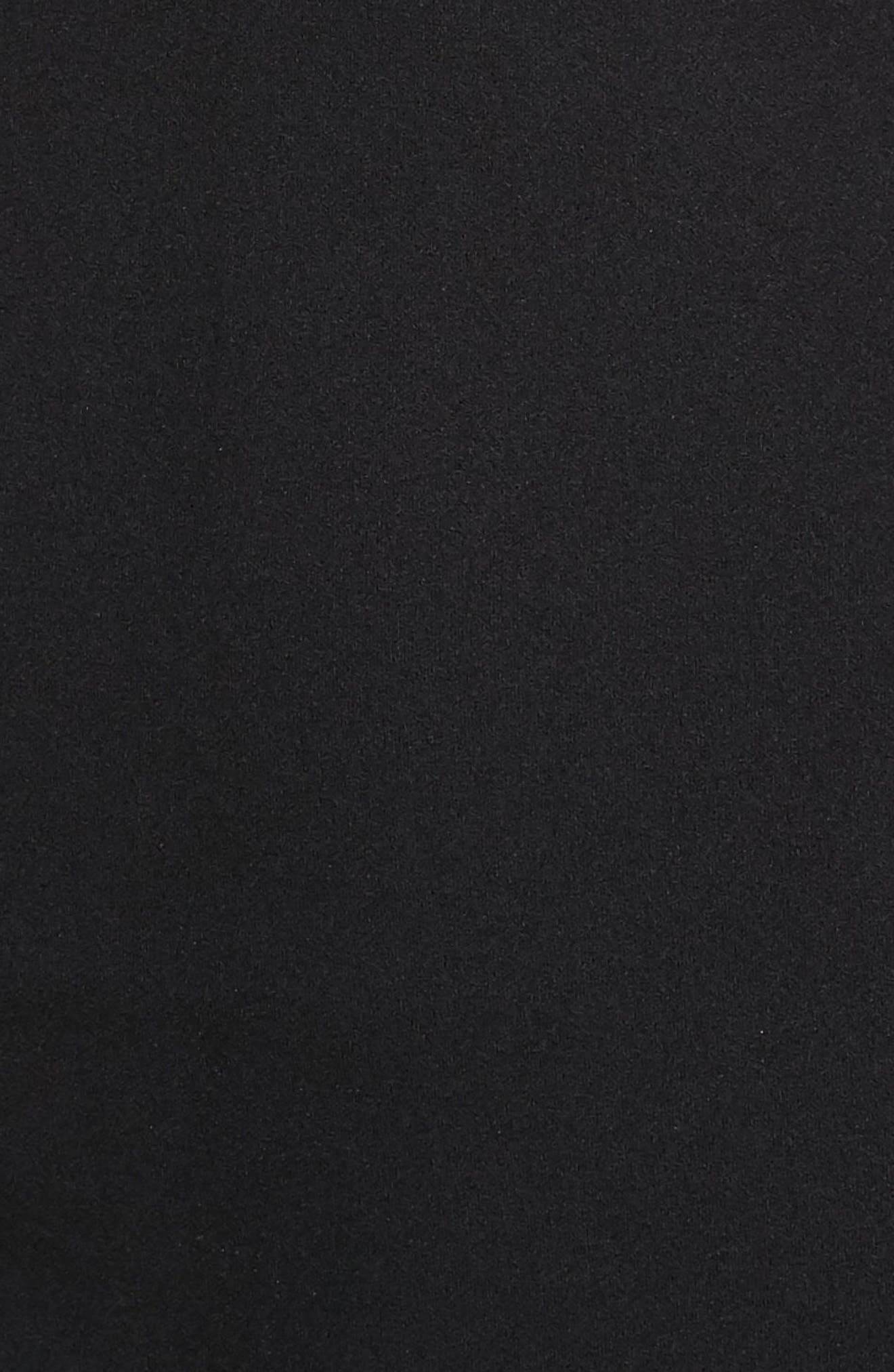 Strappy Body-Con Dress,                             Alternate thumbnail 4, color,                             001