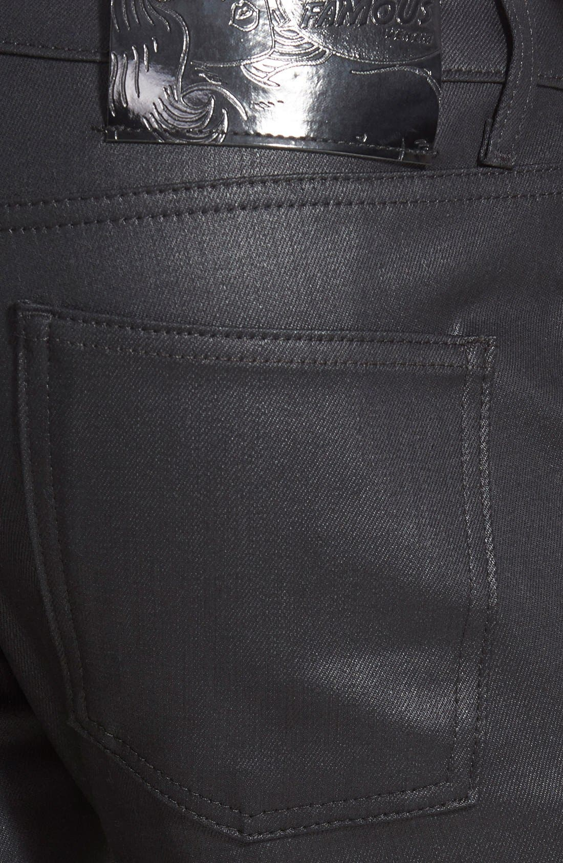 Super Skinny Guy Skinny Stretch Jeans,                             Alternate thumbnail 3, color,                             001