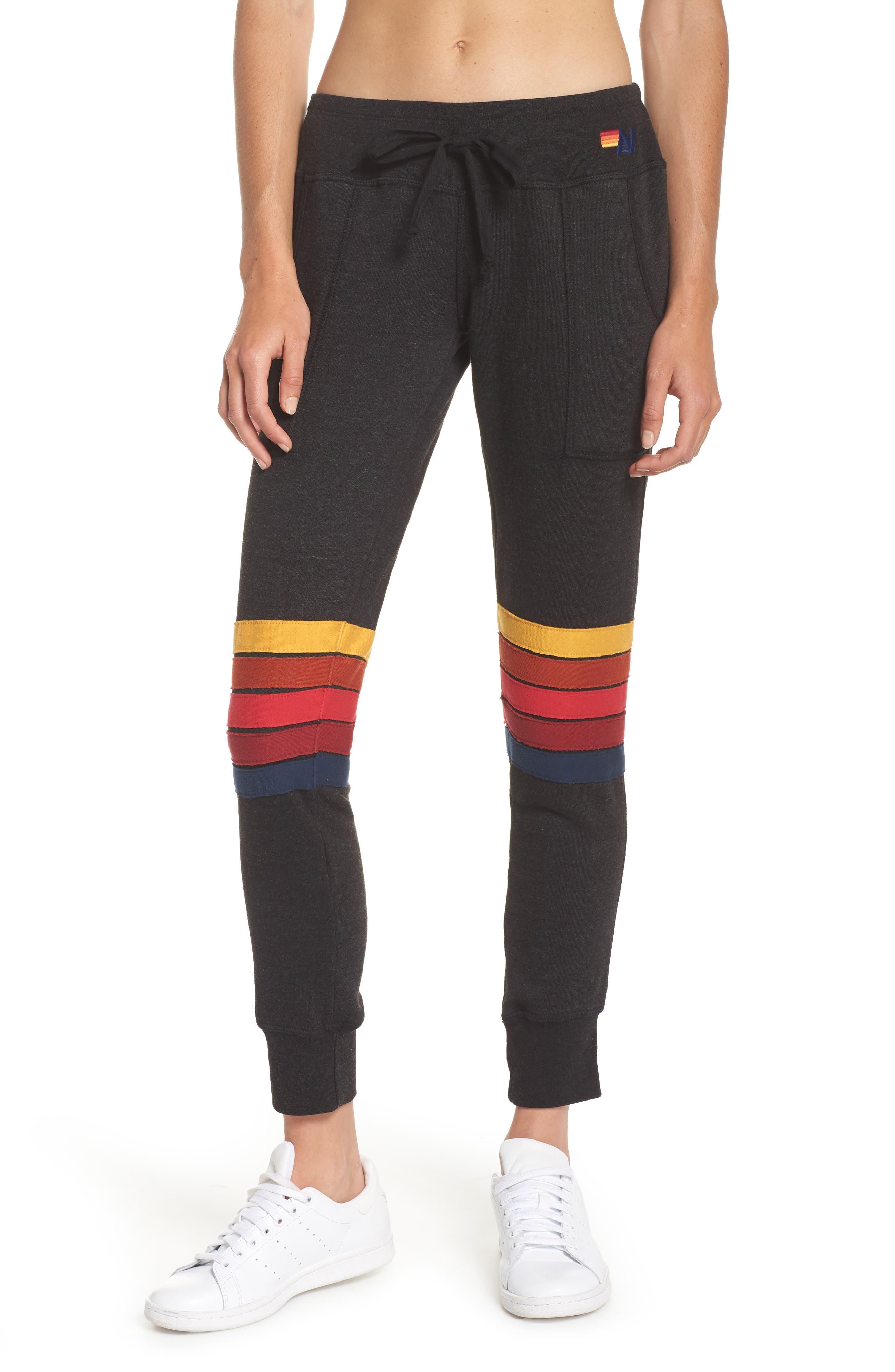 Moto Stripe Sweatpants,                             Main thumbnail 1, color,                             002