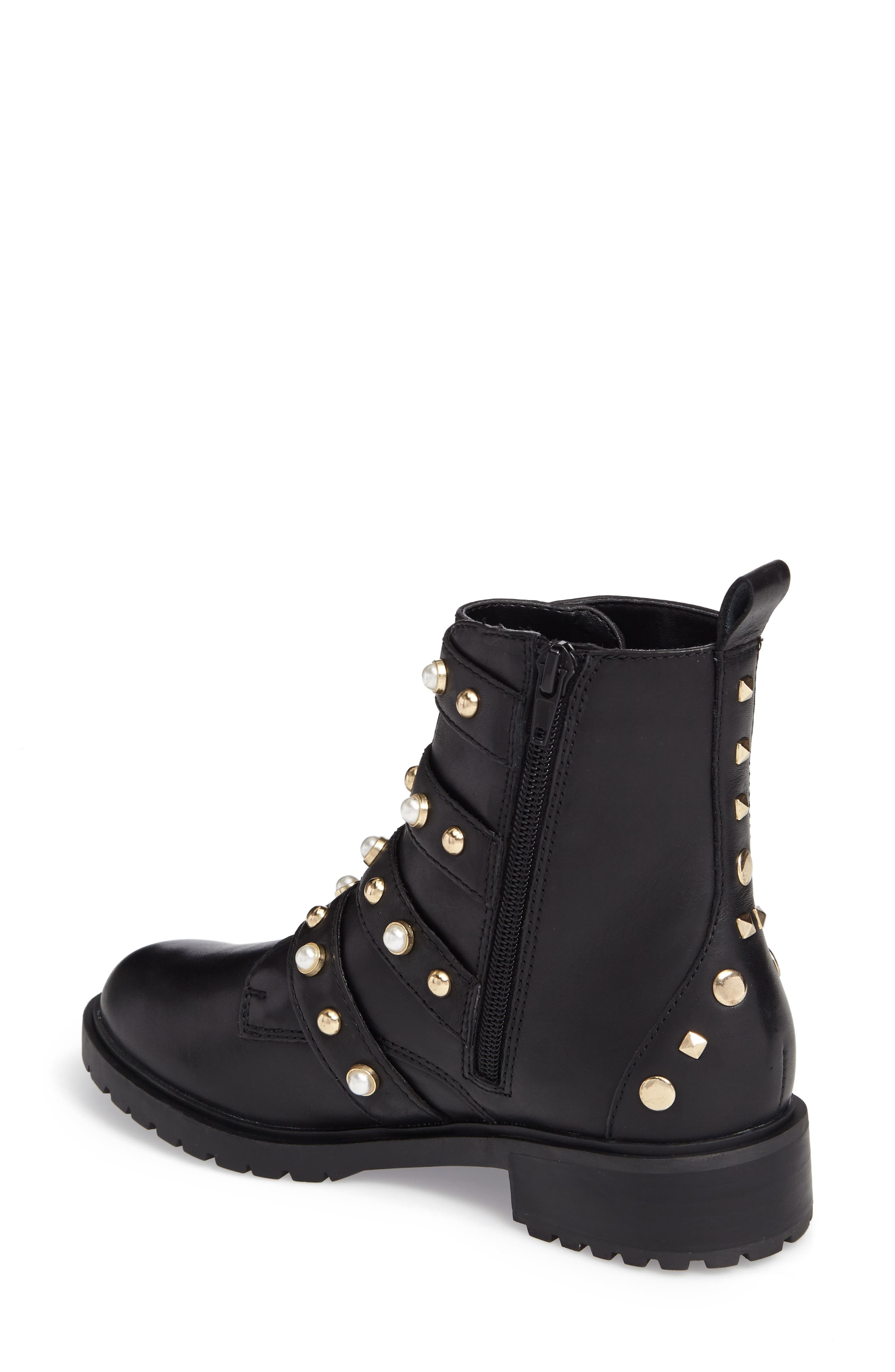 Wilmer Studded Boot,                             Alternate thumbnail 2, color,