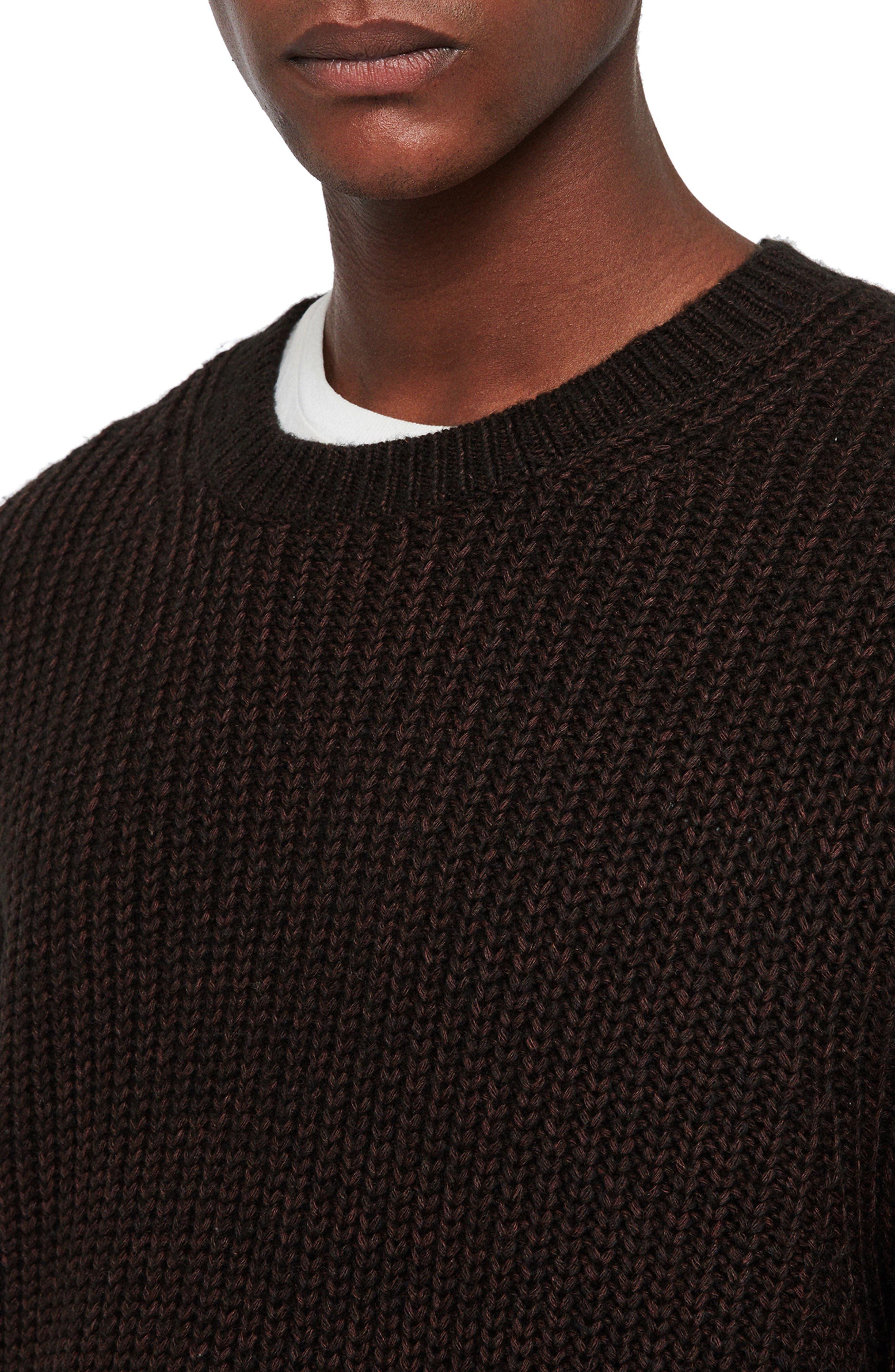 Tilman Regular Fit Sweater,                             Alternate thumbnail 4, color,                             001