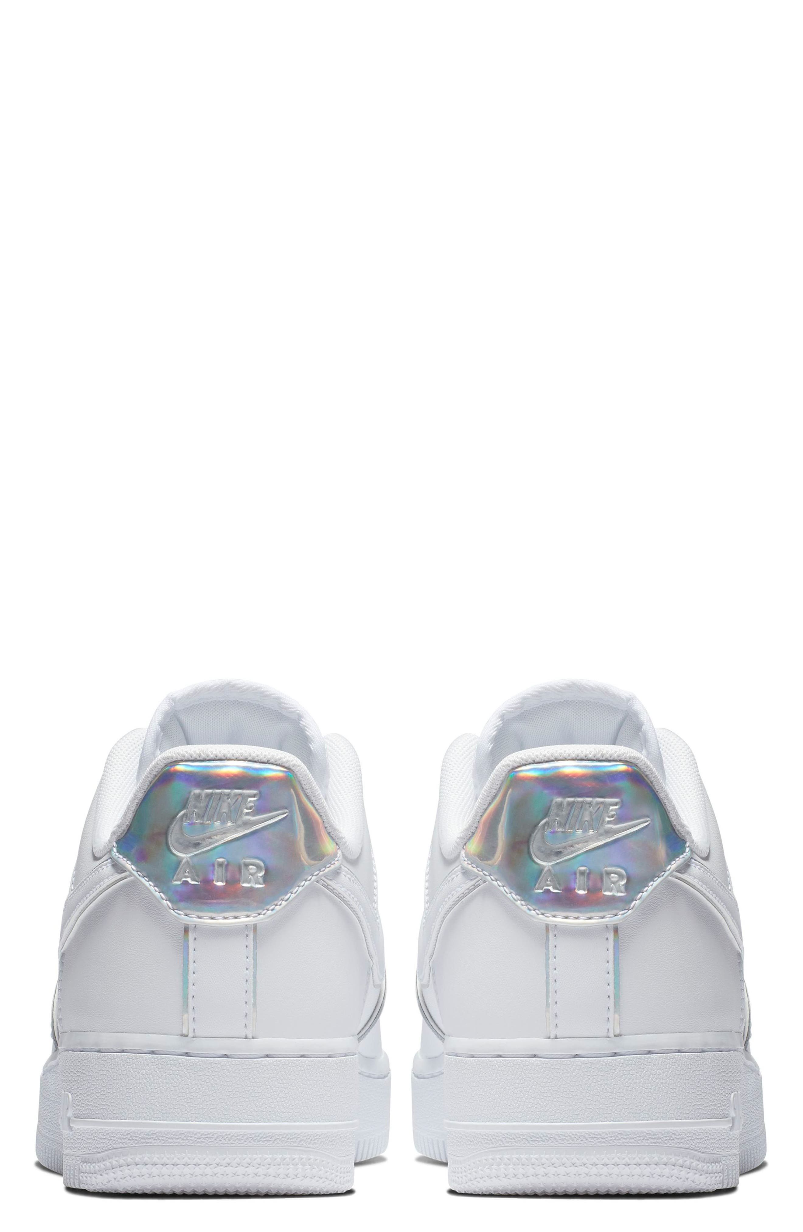Air Force 1 '07 LV8 4 Sneaker,                             Alternate thumbnail 2, color,                             WHITE/ WHITE/ WHITE