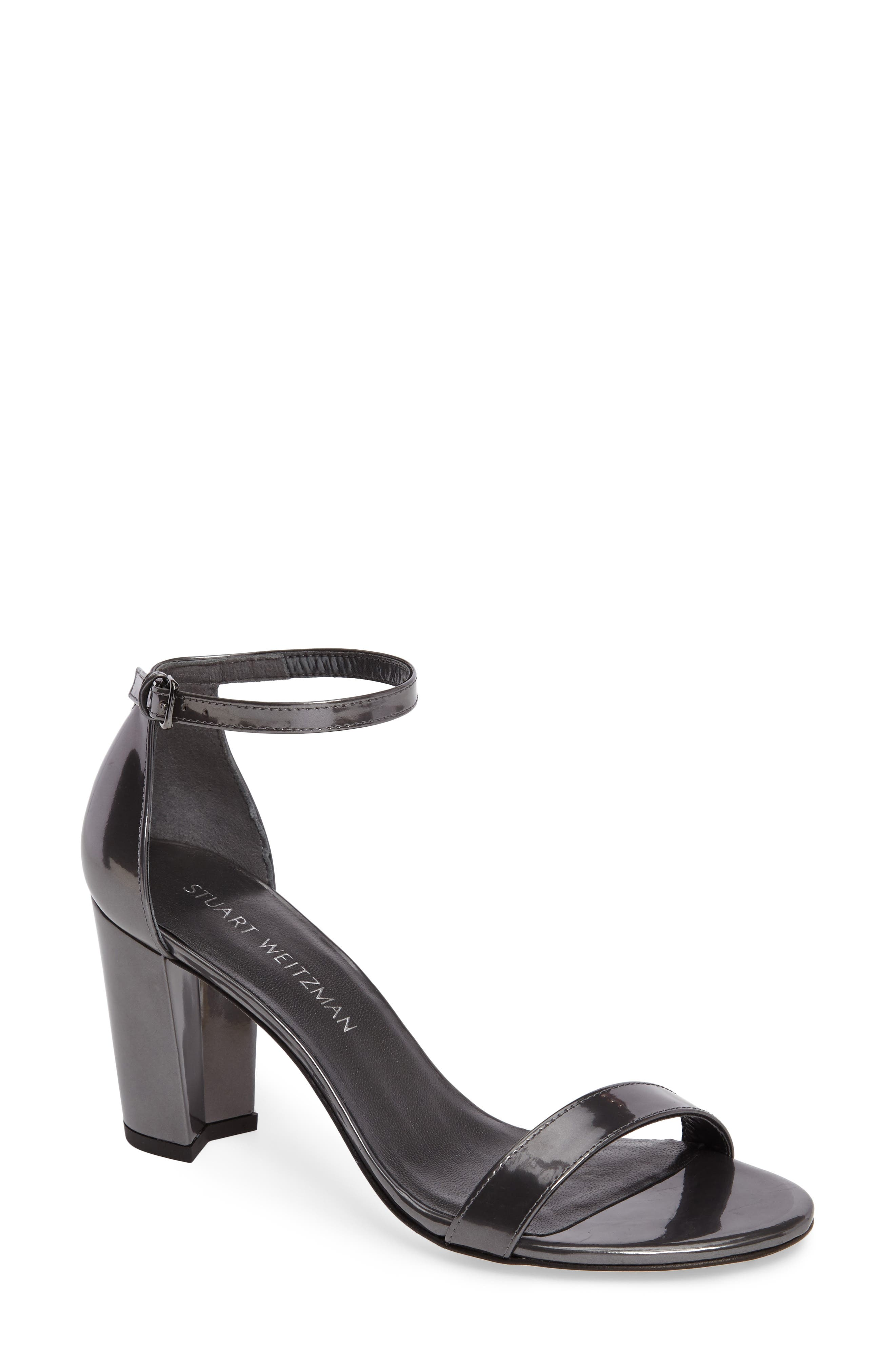 NearlyNude Ankle Strap Sandal,                             Main thumbnail 12, color,