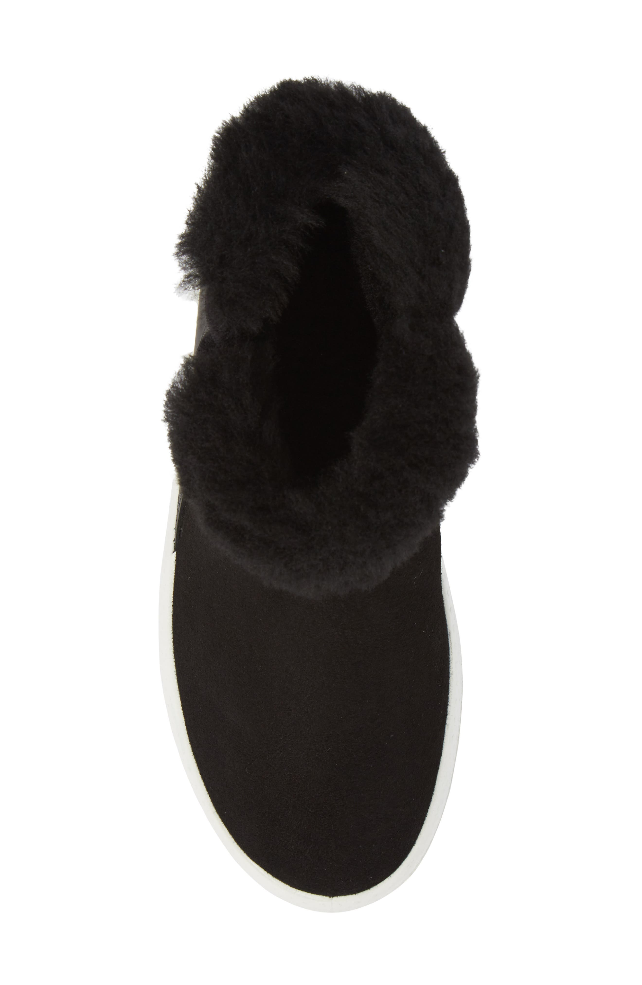 Ukiuk Genuine Shearling Boot,                             Alternate thumbnail 5, color,                             001