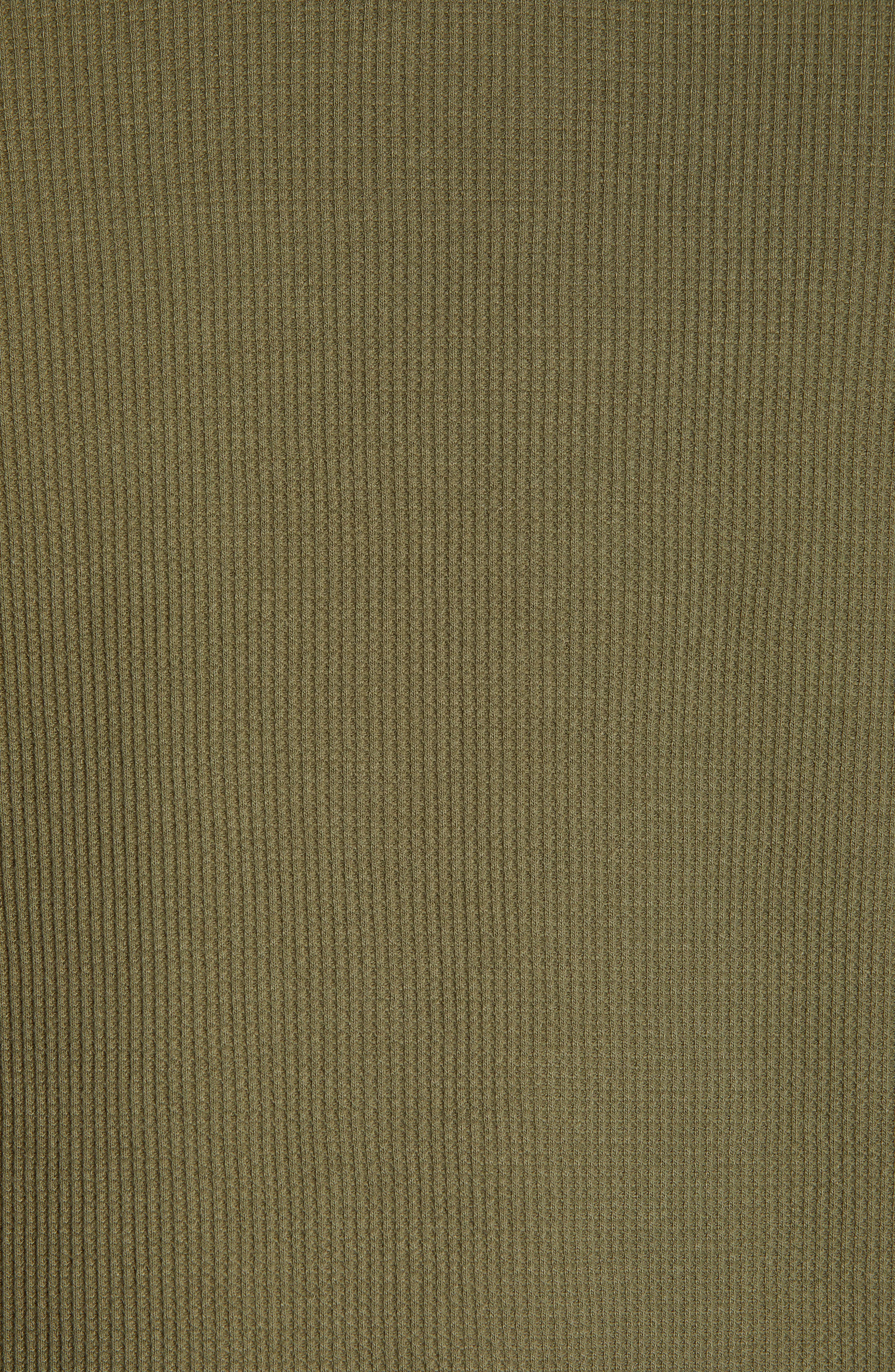 Leeward Thermal Long Sleeve T-Shirt,                             Alternate thumbnail 5, color,                             ROVER GREEN