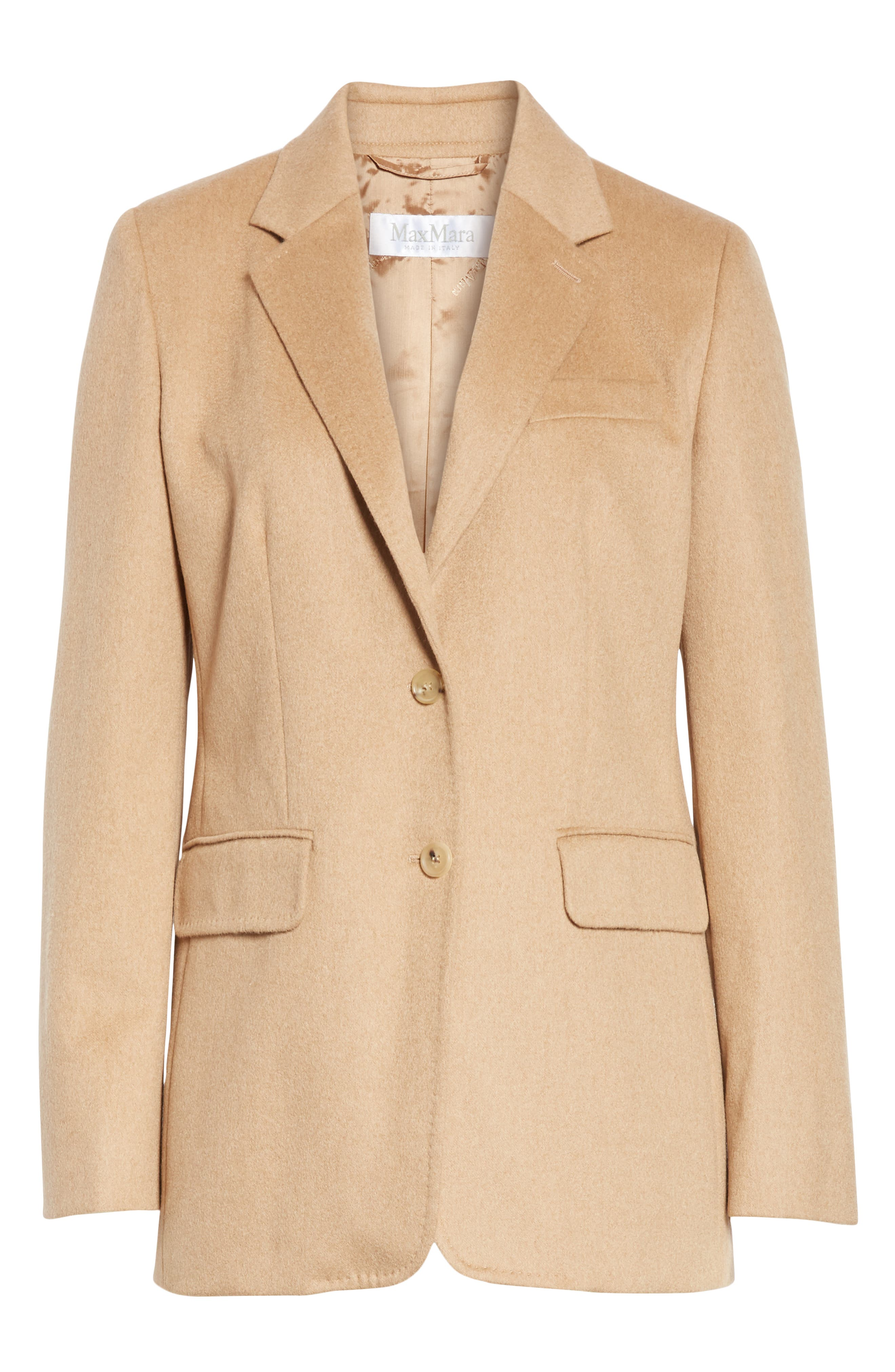Panteon Camel Hair Jacket,                             Alternate thumbnail 5, color,                             232