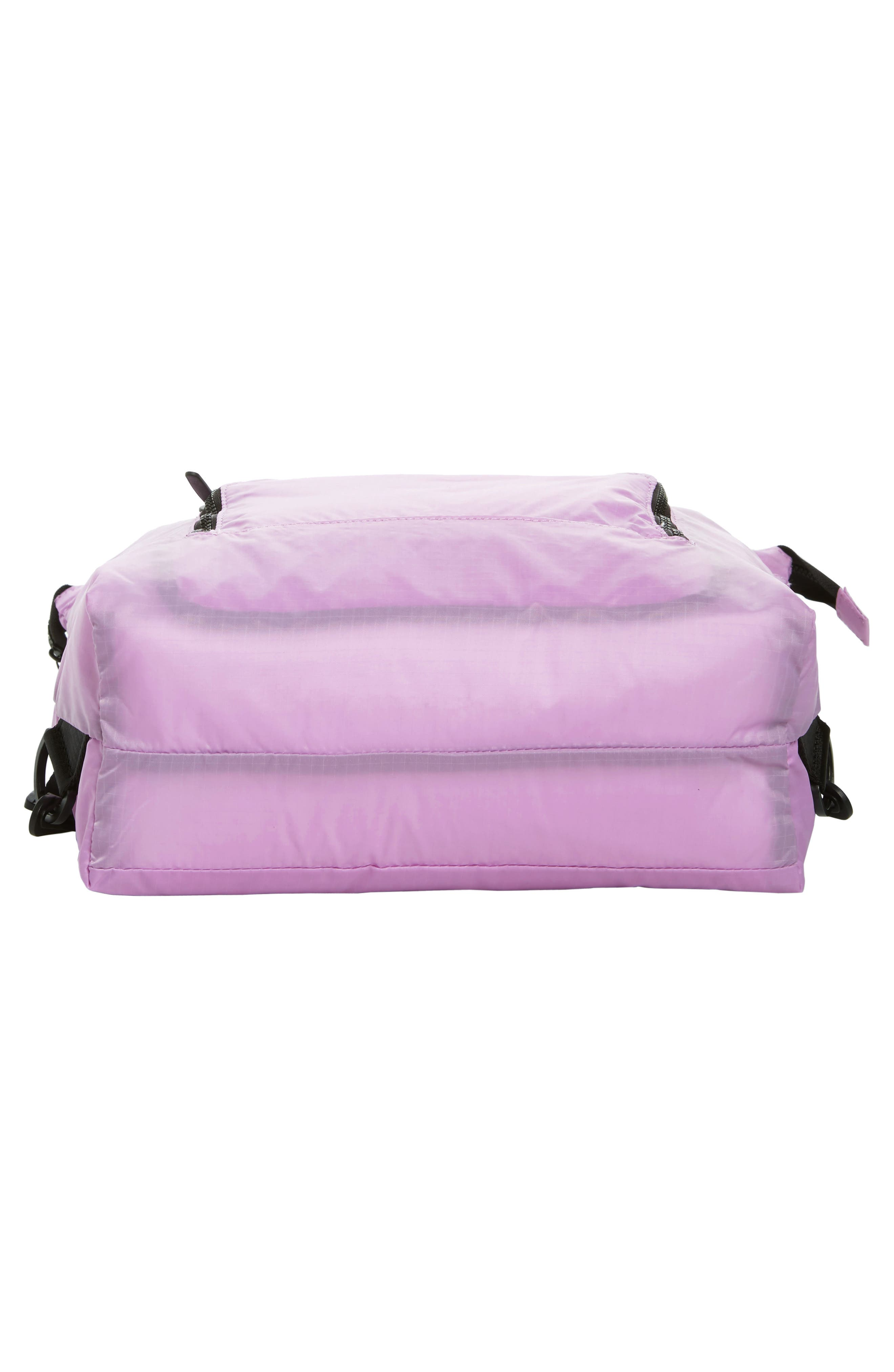 Packable Convertible Backpack,                             Alternate thumbnail 7, color,                             LAVENDER SWEET