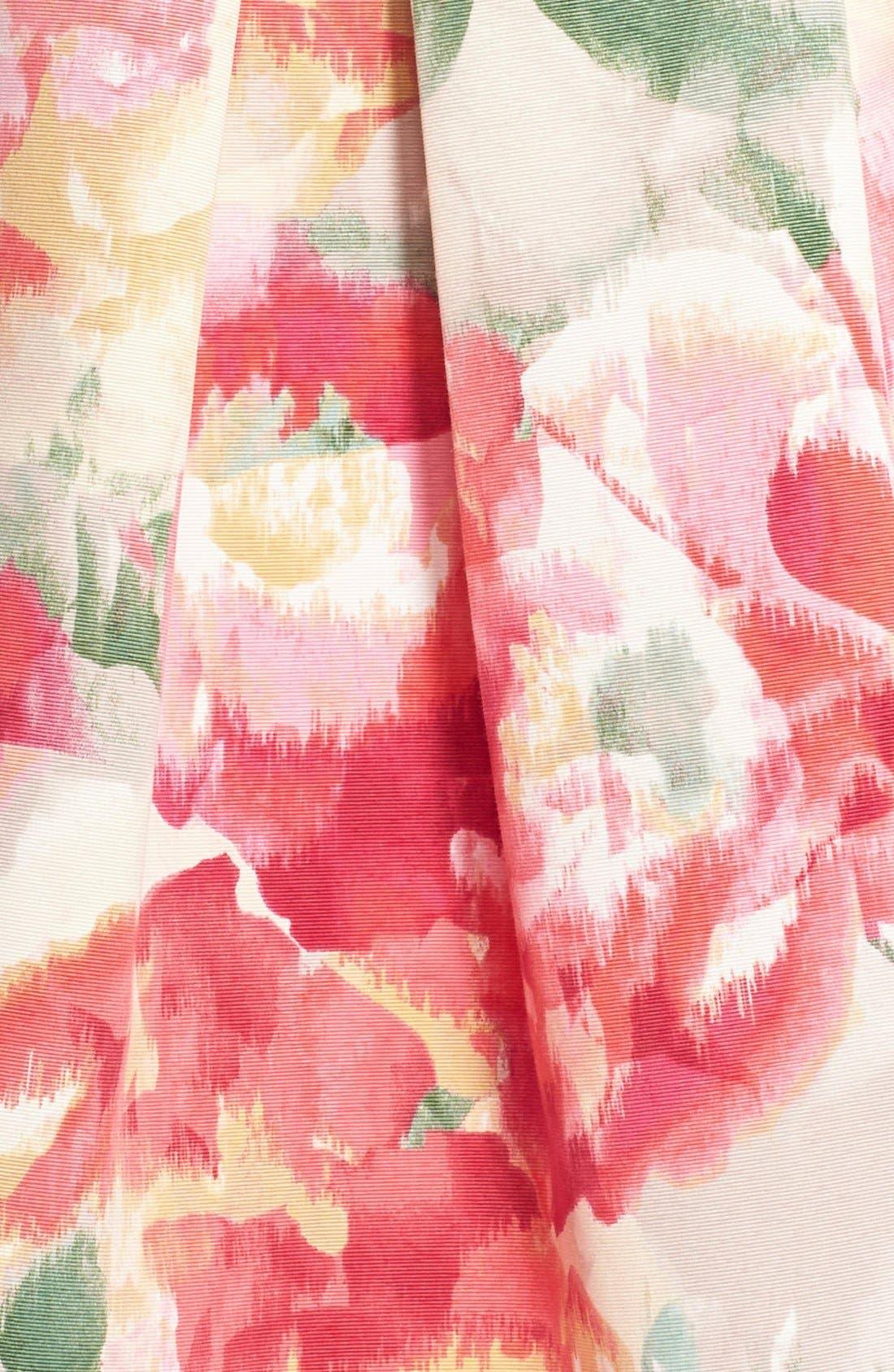 ELIZA J,                             Floral Popover Sleeveless Sheath Dress,                             Alternate thumbnail 3, color,                             698