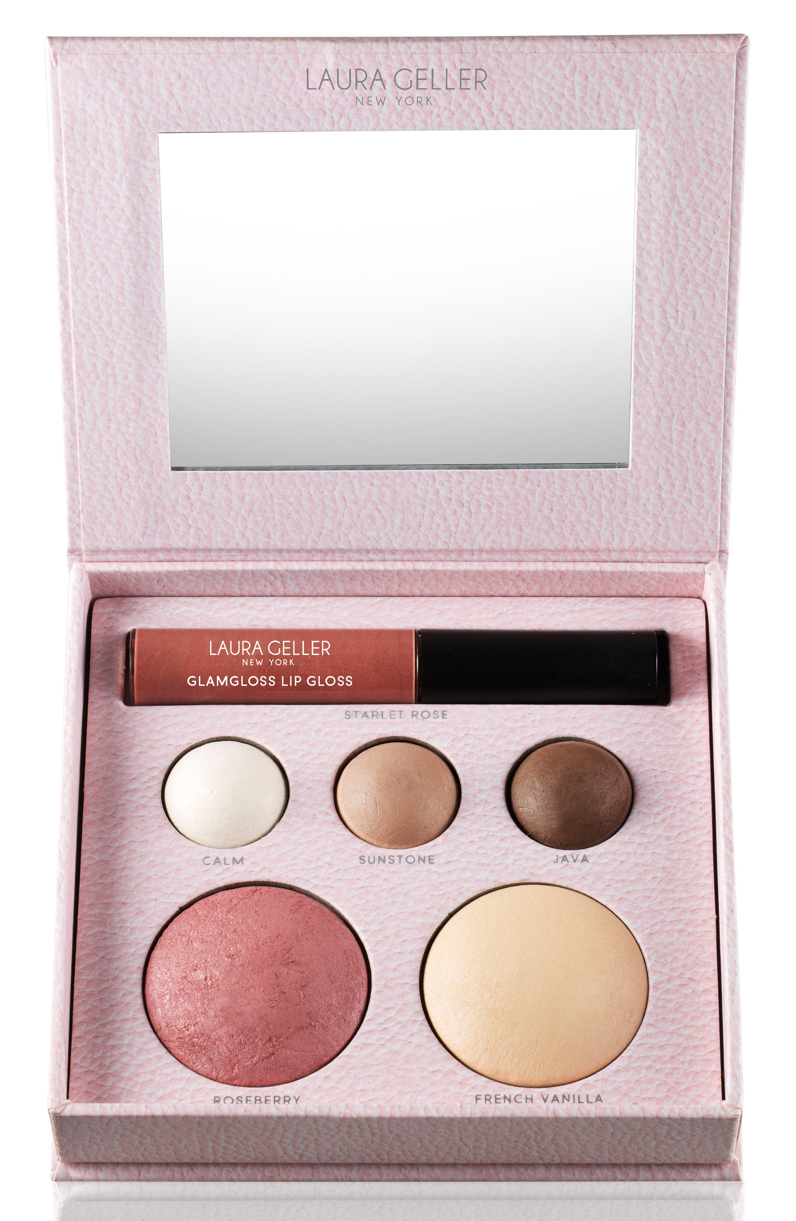 Glam on the Run Travel Palette,                             Main thumbnail 1, color,                             000