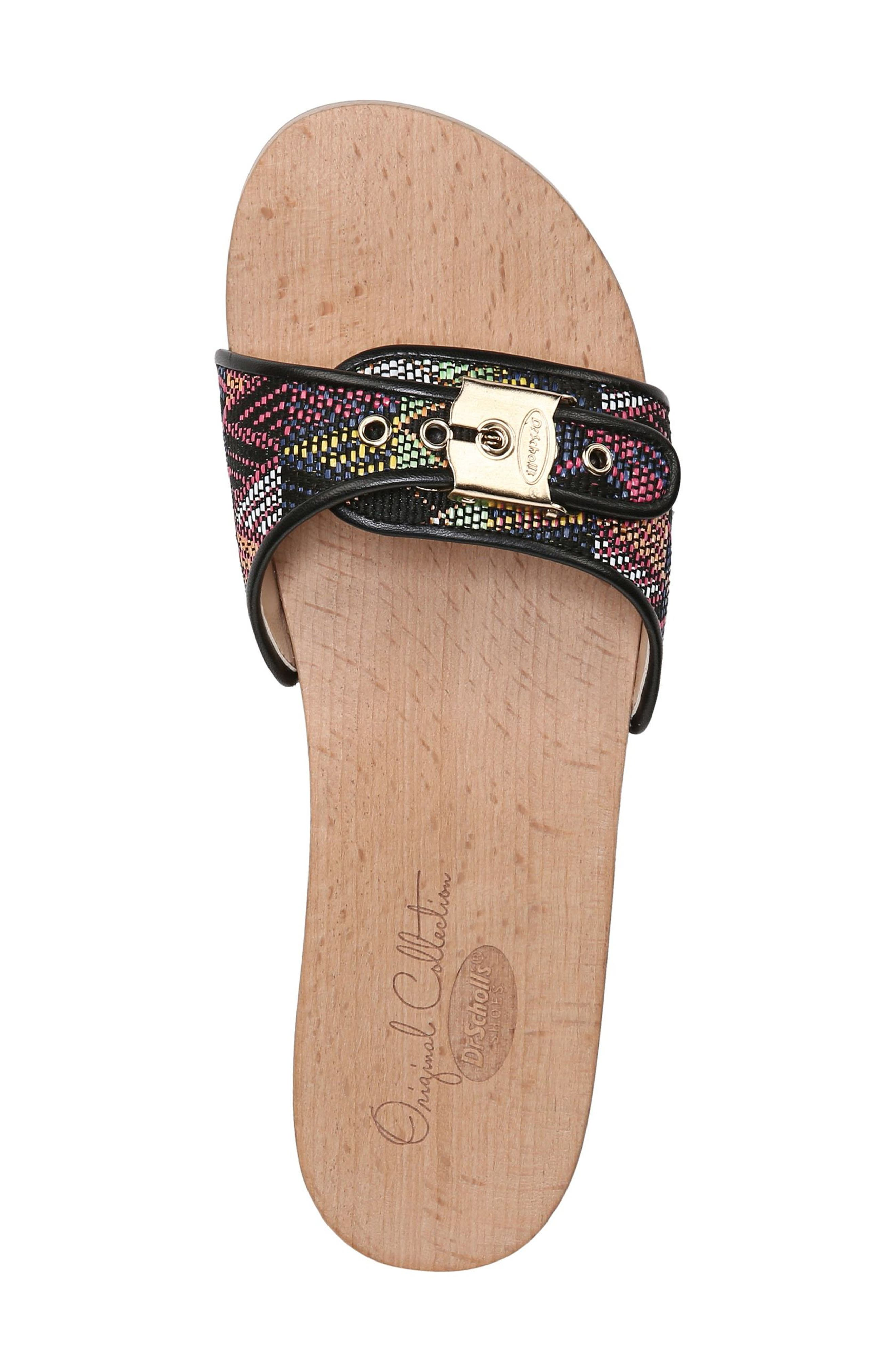 Original Collection 'Original Footbed' Sandal,                             Alternate thumbnail 5, color,                             001