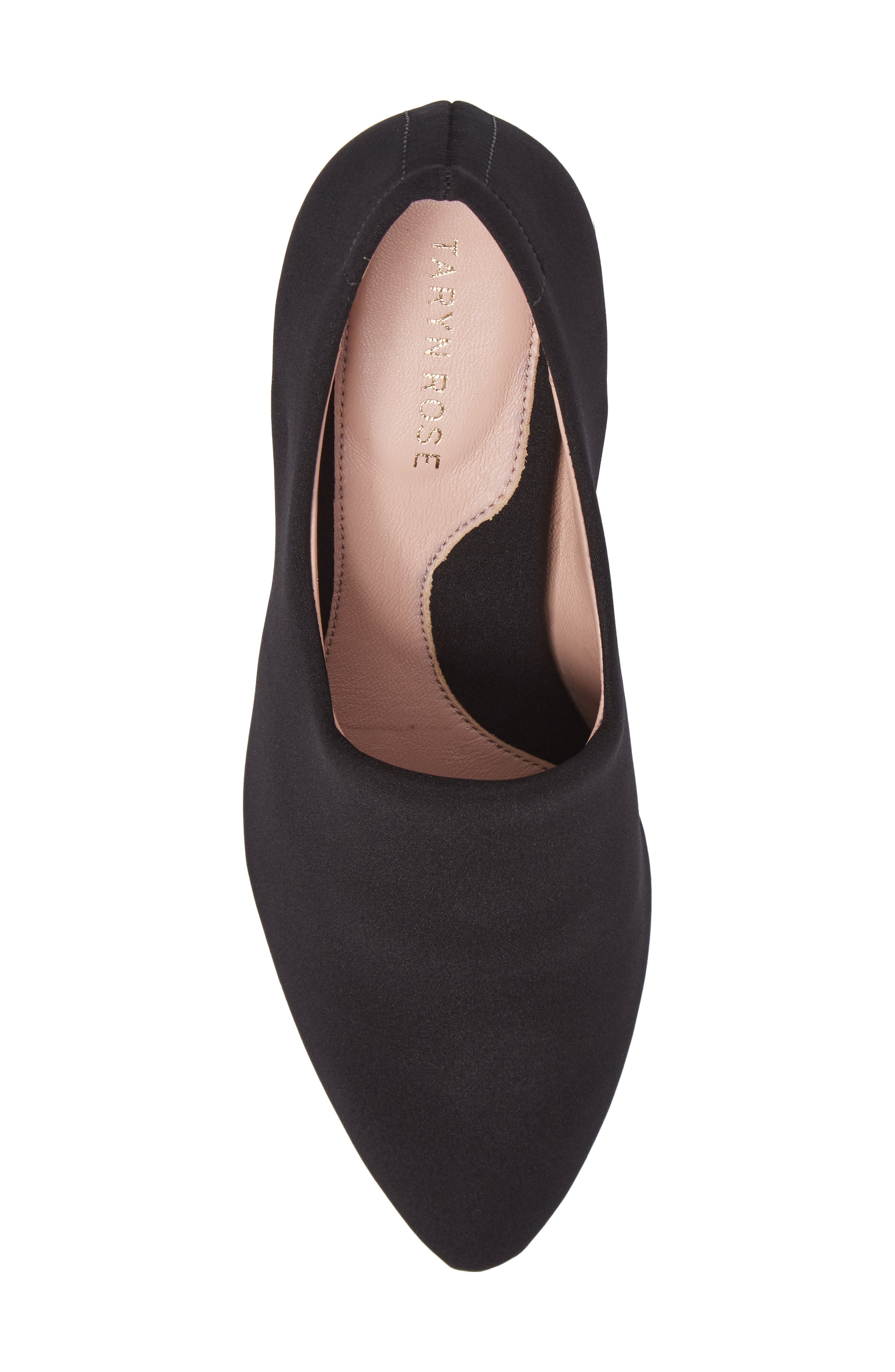 Yvonne Pointy Toe Wedge,                             Alternate thumbnail 5, color,                             001