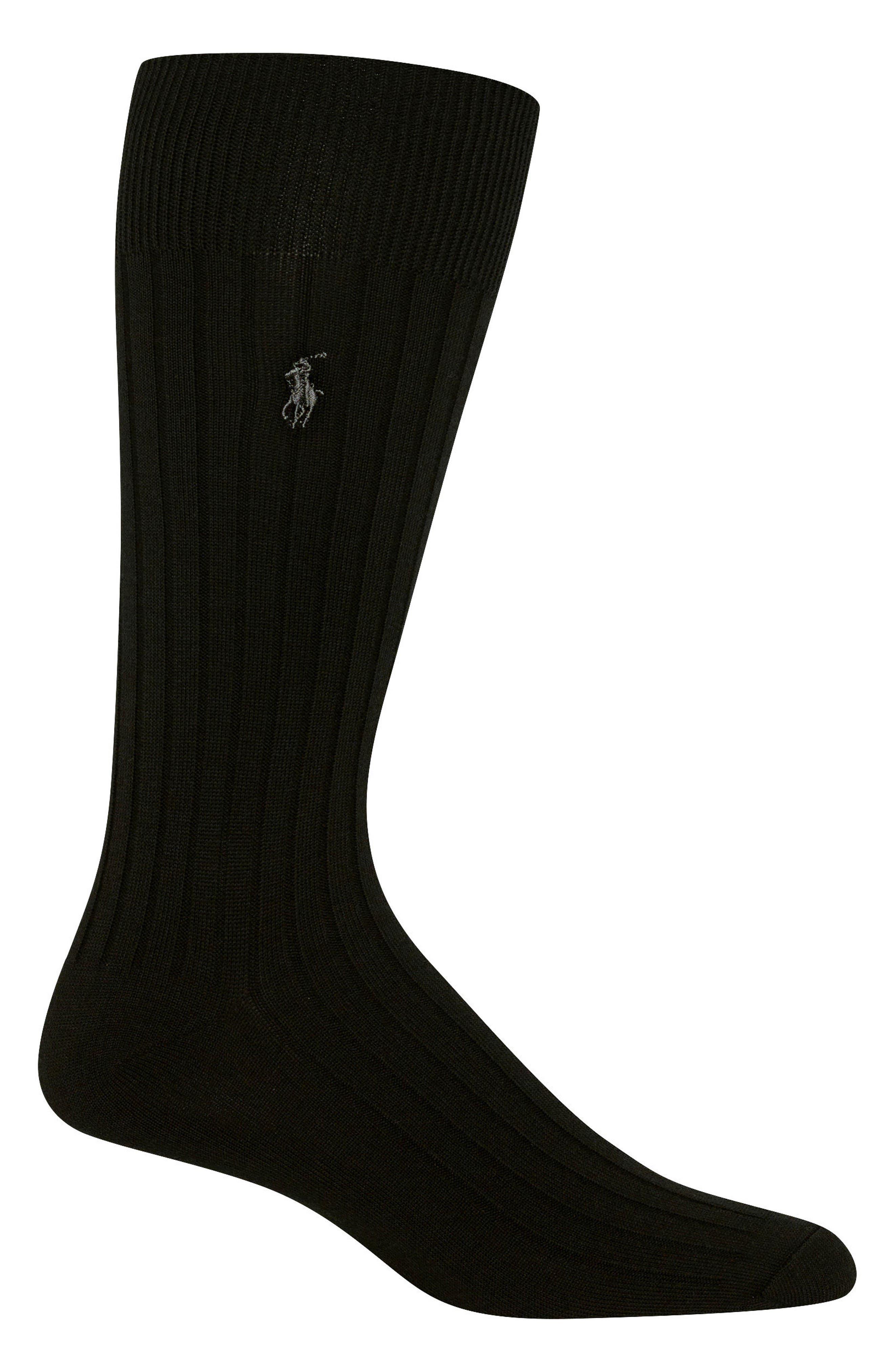 Ribbed Socks,                         Main,                         color,