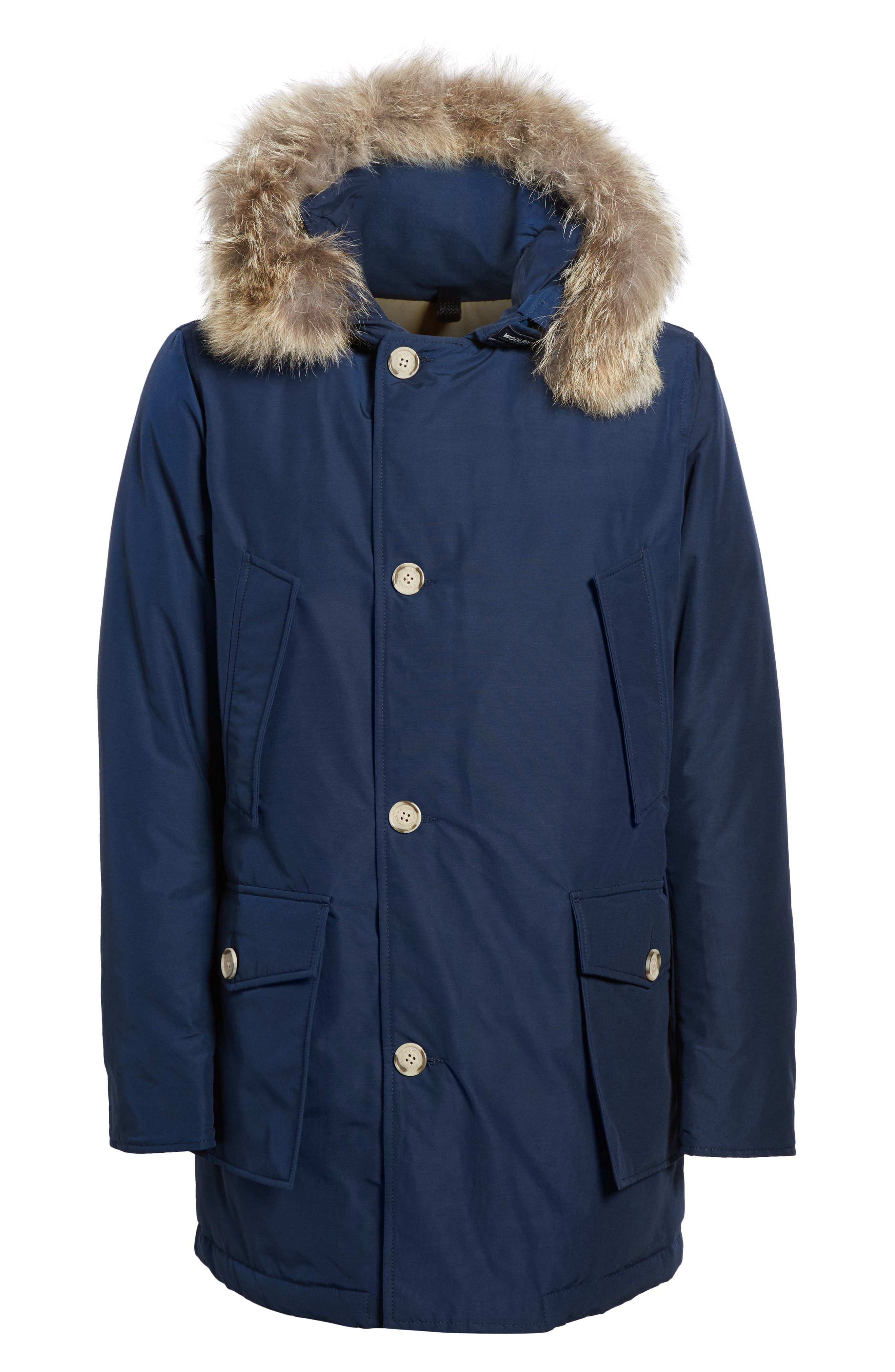 John Rich & Bros. Arctic Parka with Genuine Coyote Fur Trim,                             Alternate thumbnail 32, color,
