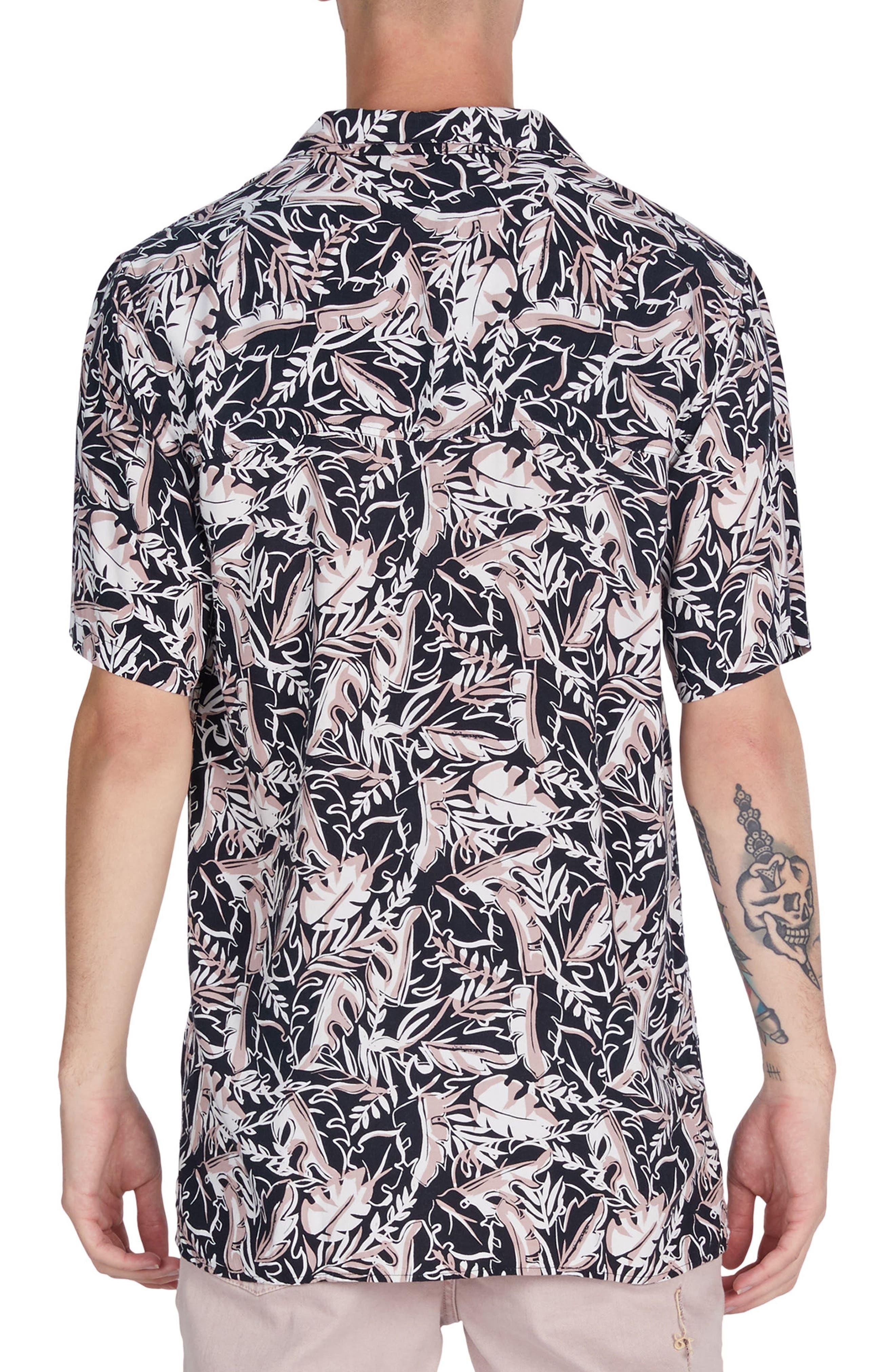 ZANEROBE,                             Fern Box Shirt,                             Alternate thumbnail 2, color,                             001
