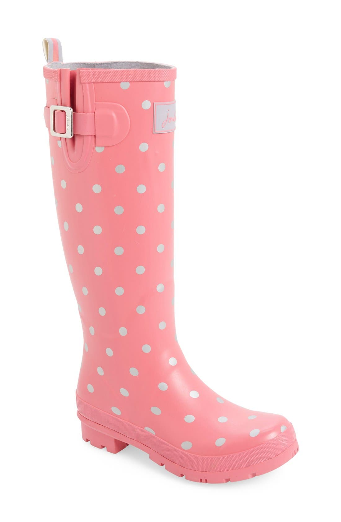 'Welly' Print Rain Boot,                             Main thumbnail 44, color,