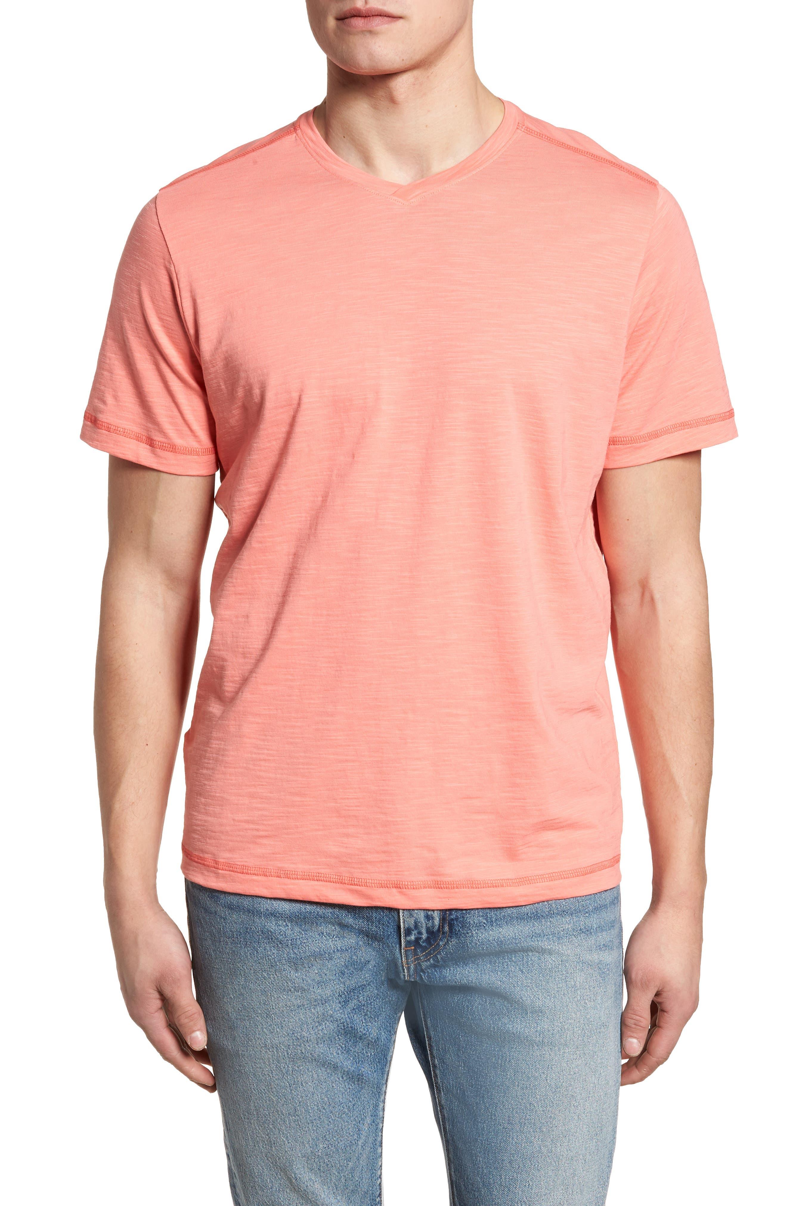 Portside Palms V-Neck T-Shirt,                             Main thumbnail 9, color,