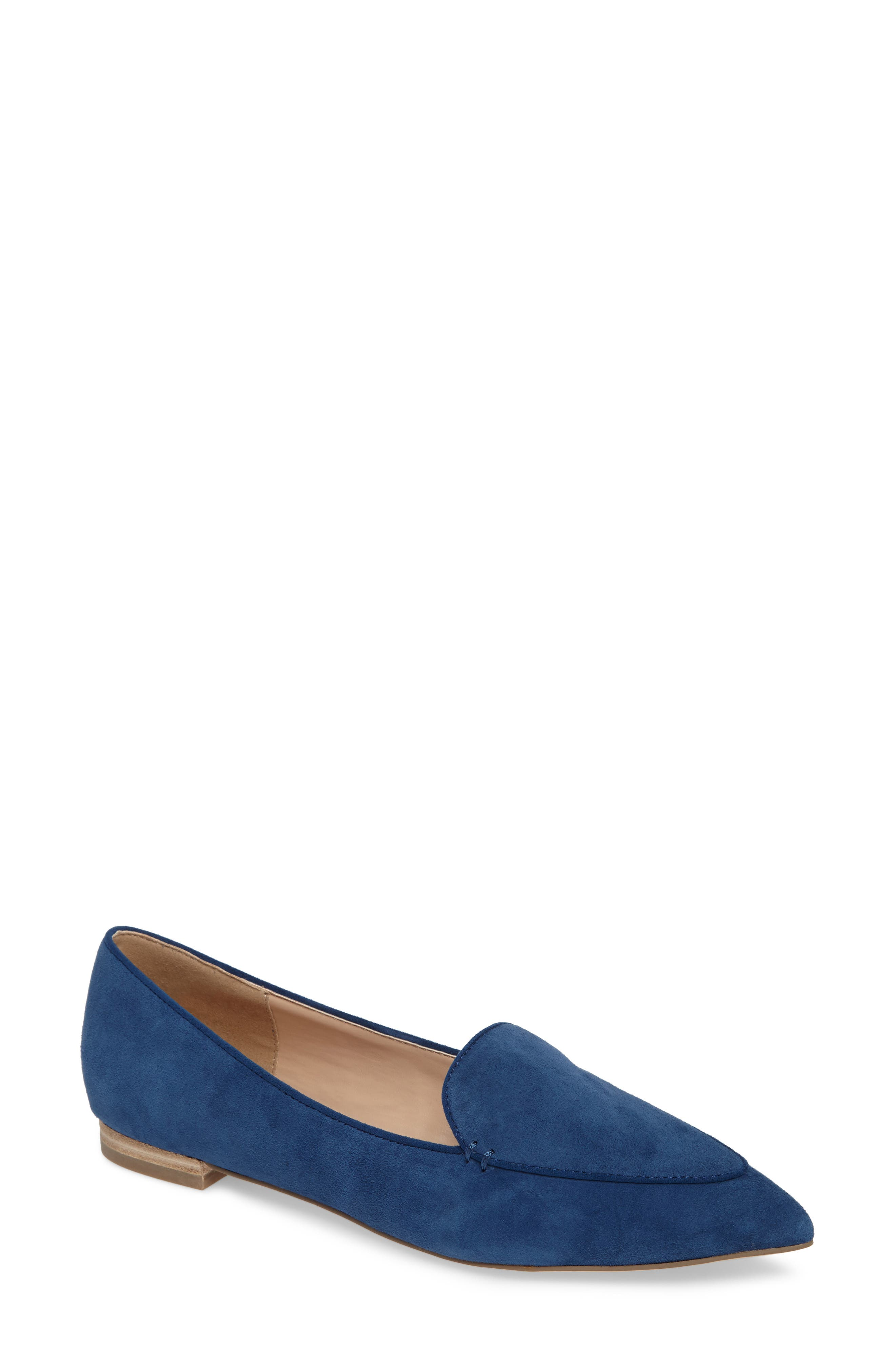 'Cammila' Pointy Toe Loafer,                             Main thumbnail 2, color,