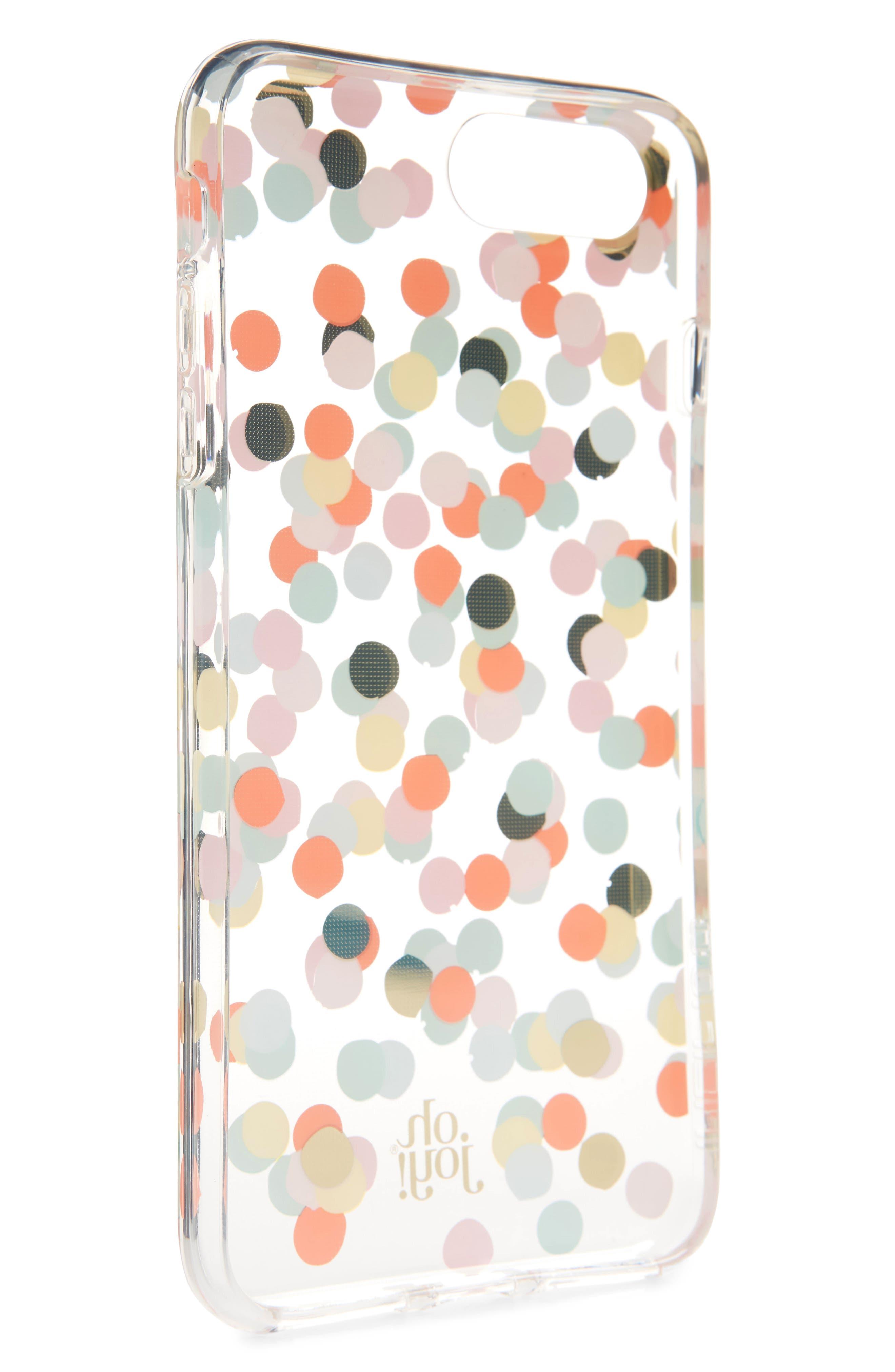 Oh Joy Confetti iPhone X & Xs Case,                             Alternate thumbnail 2, color,