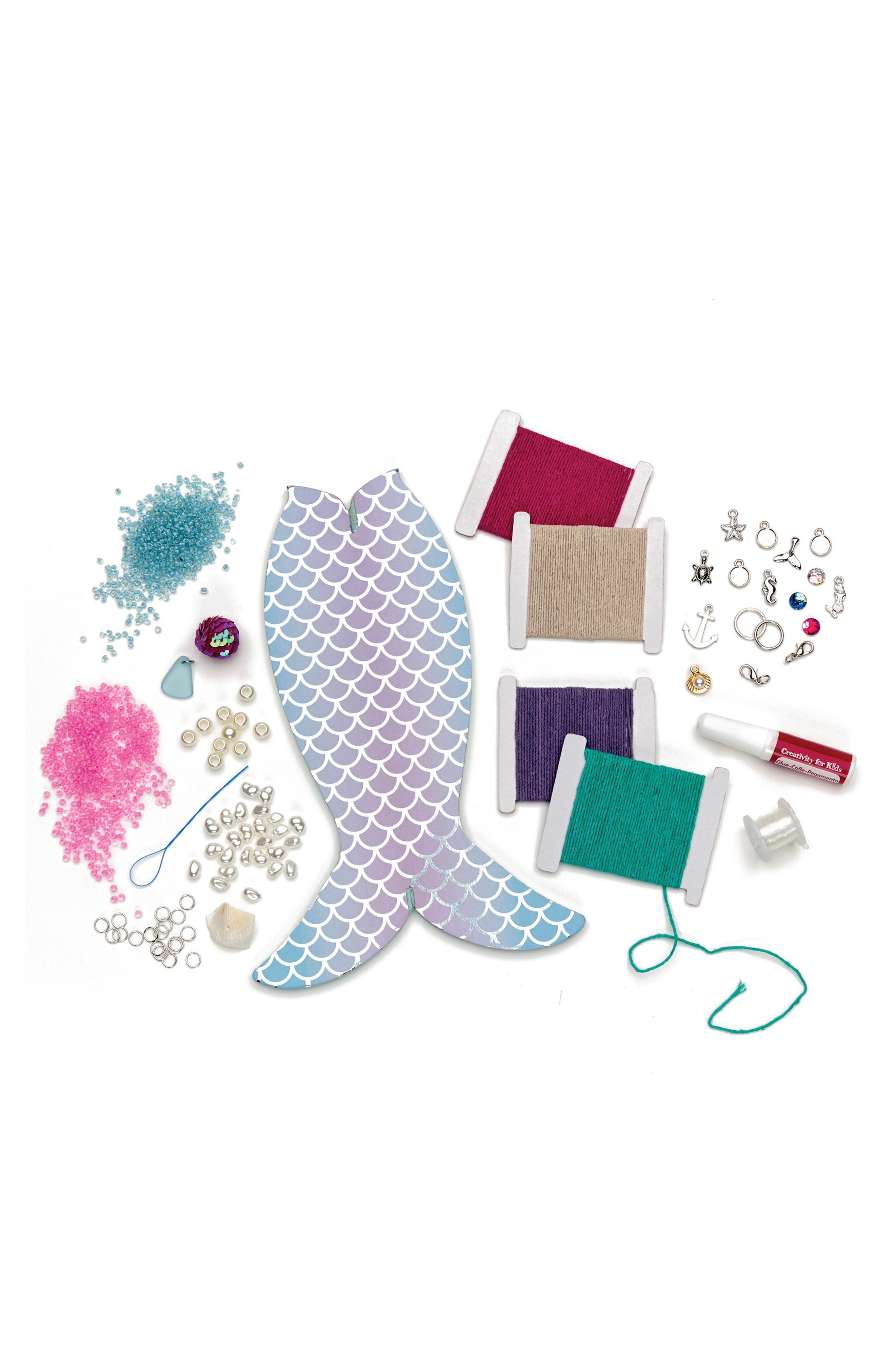 Mermaid Tail Jewelry Maker,                             Alternate thumbnail 3, color,                             450
