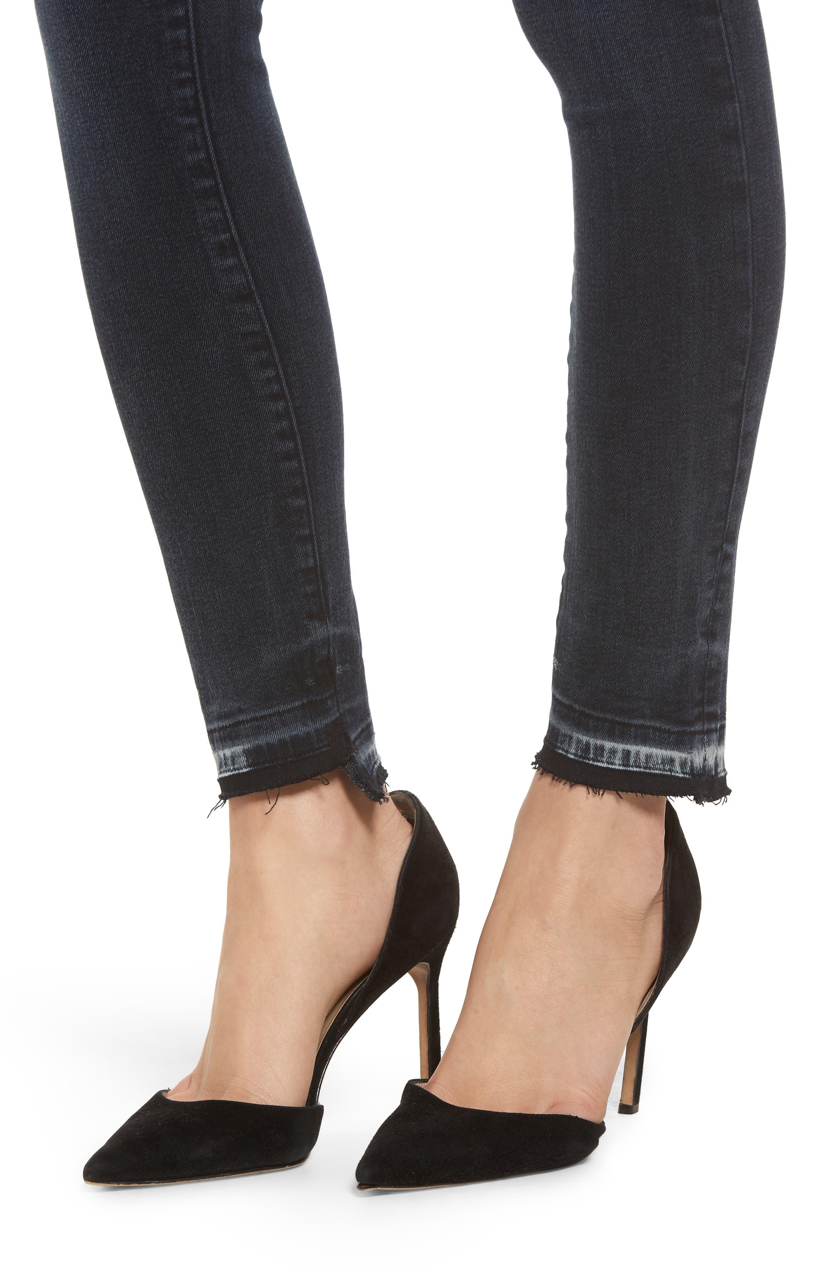 Farrow High Waist Skinny Jeans,                             Alternate thumbnail 4, color,                             425