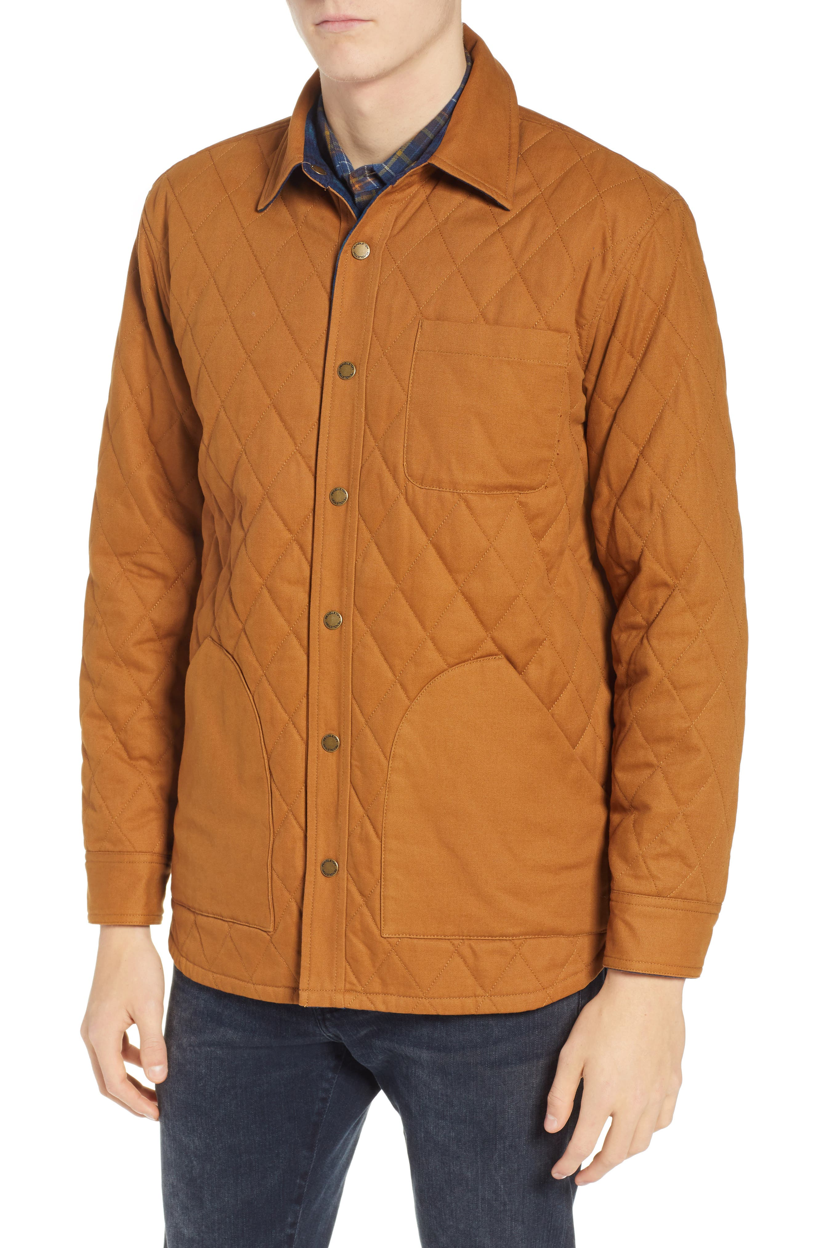 Reversible Quilted Canvas Jacket,                             Alternate thumbnail 6, color,                             212