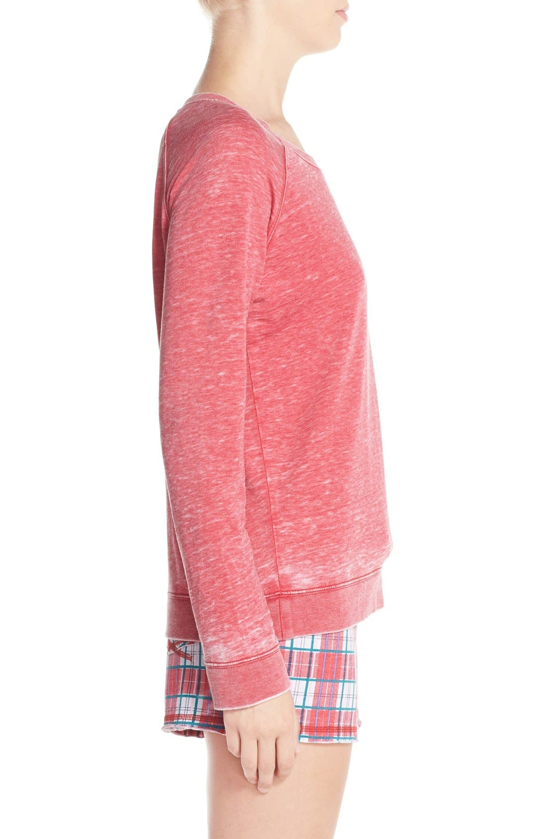 Burnout Lounge Sweatshirt,                             Alternate thumbnail 117, color,