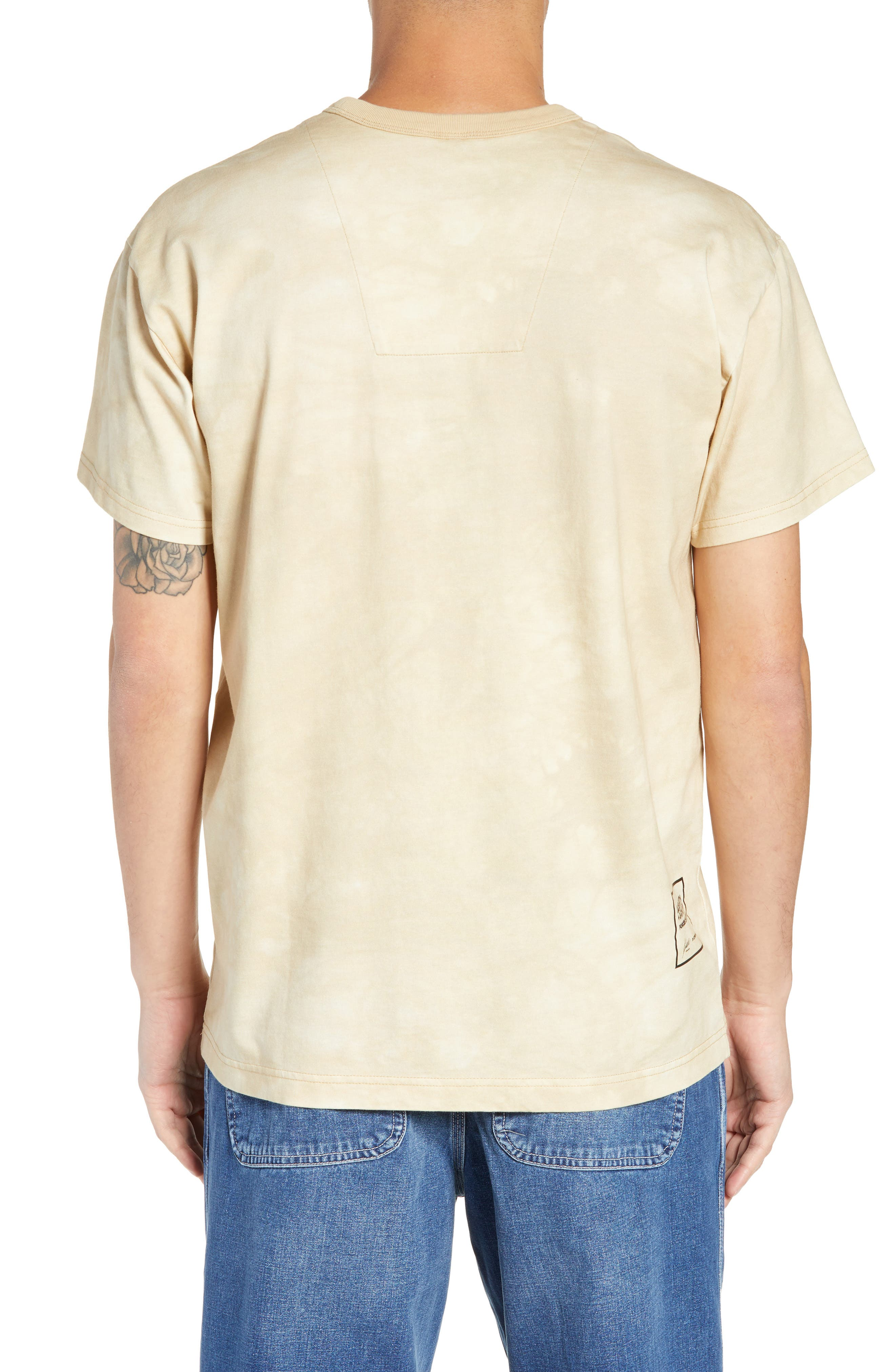 G-Star Cyrer Animal Loose T-Shirt,                             Alternate thumbnail 2, color,                             SAND