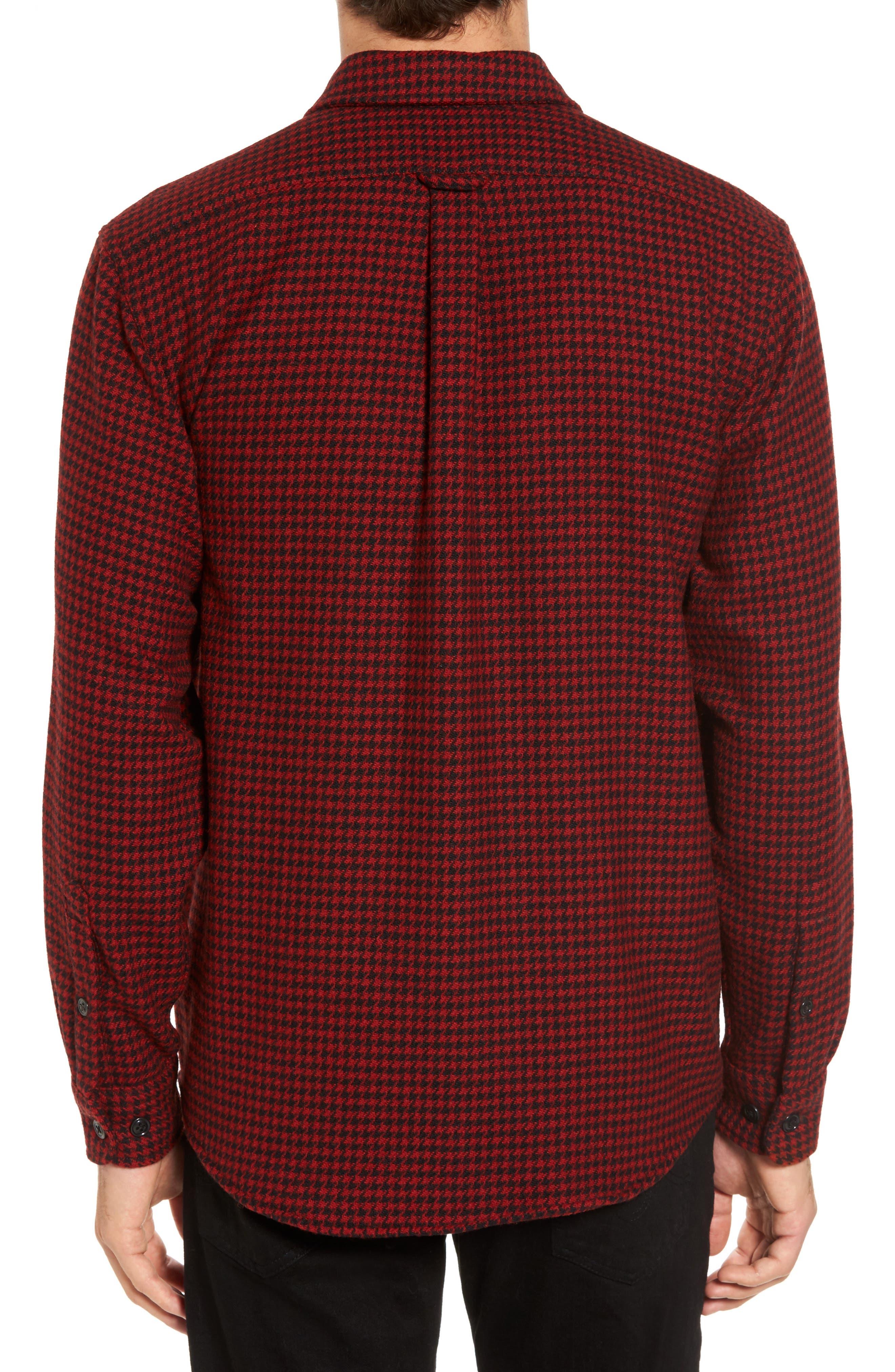 Northwest Houndstooth Shirt Jacket,                             Alternate thumbnail 2, color,                             645