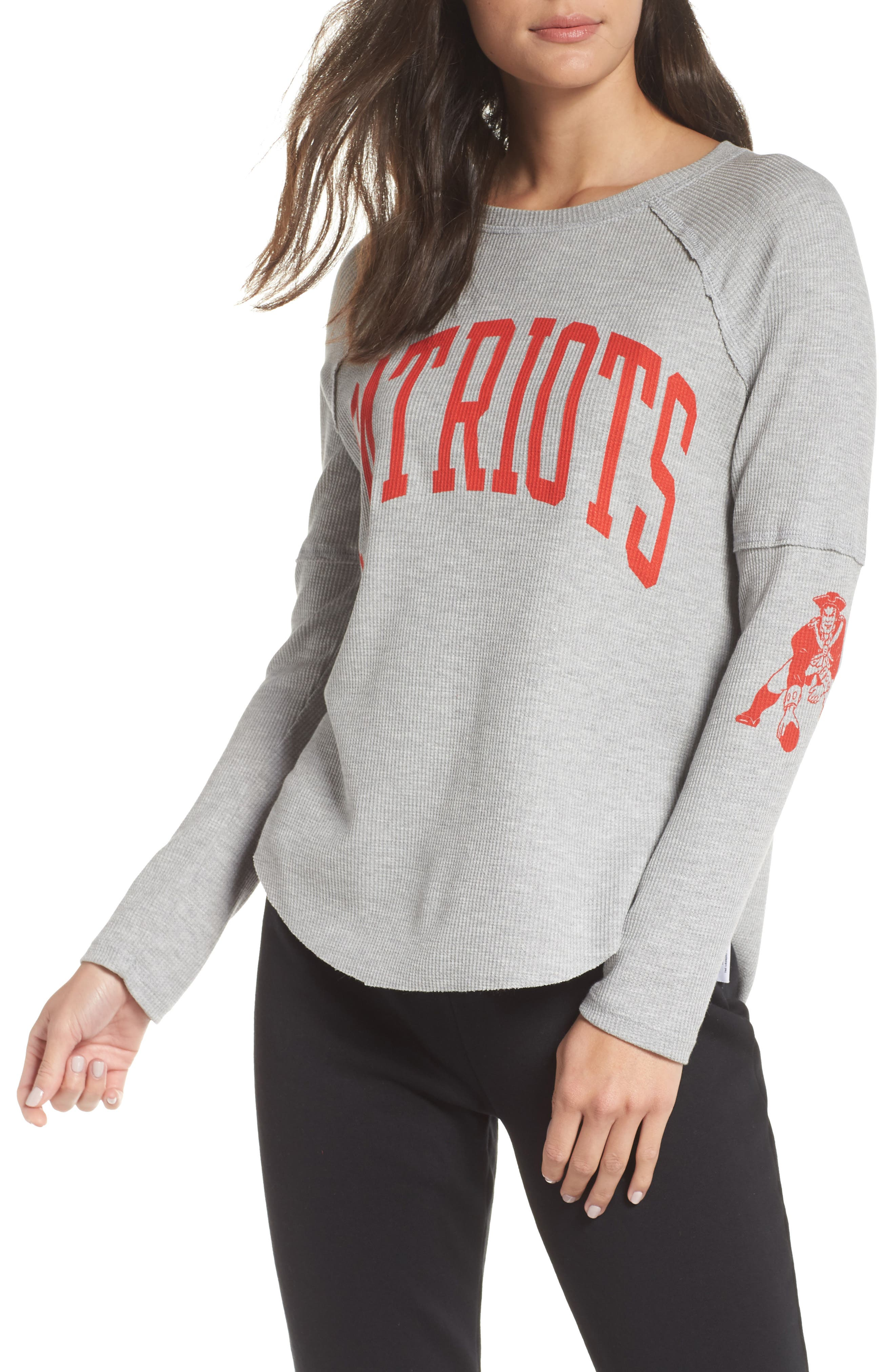 NFL Thermal Tee,                         Main,                         color, PATRIOTS