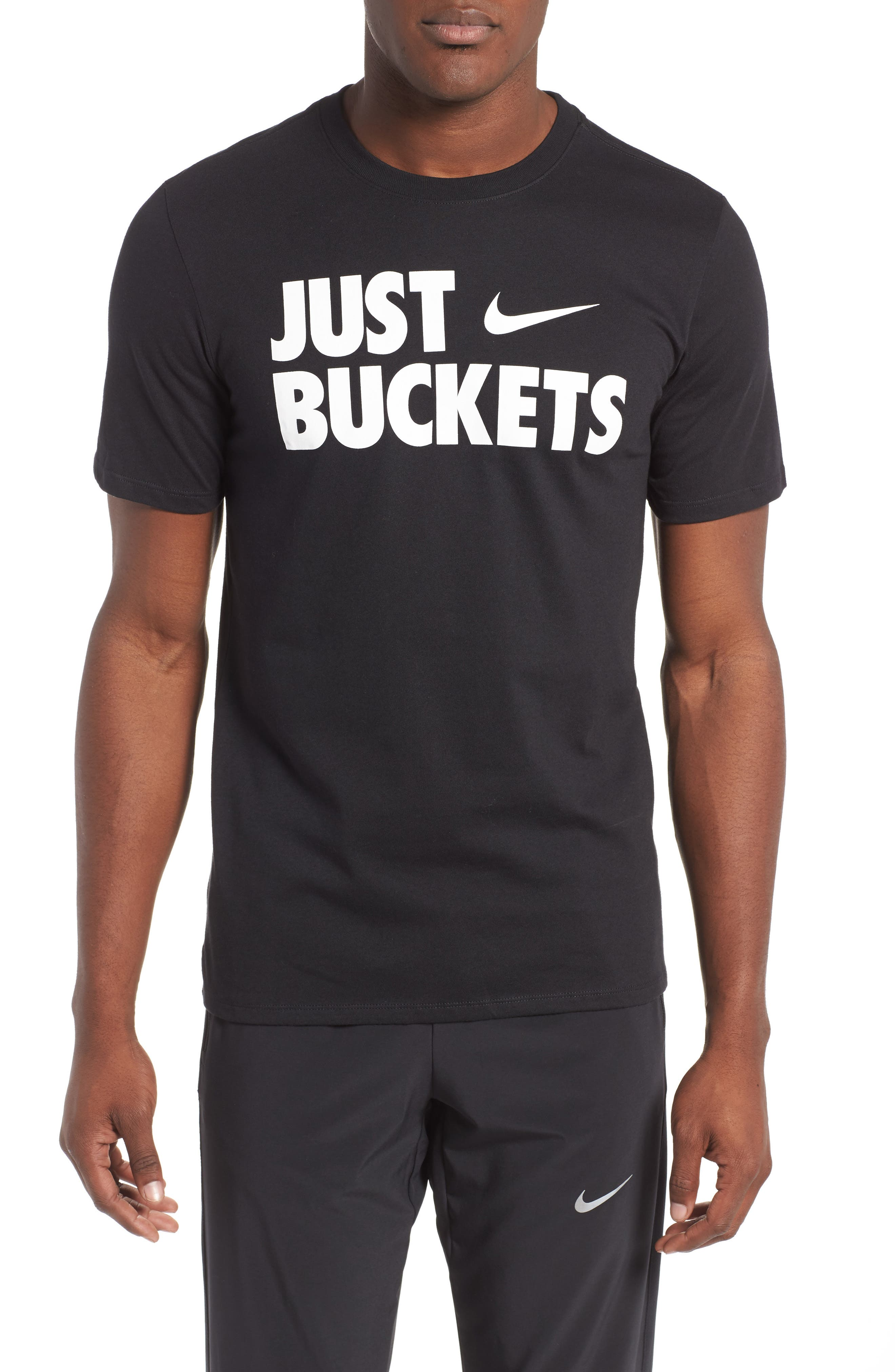Just Buckets T-Shirt, Main, color, 010